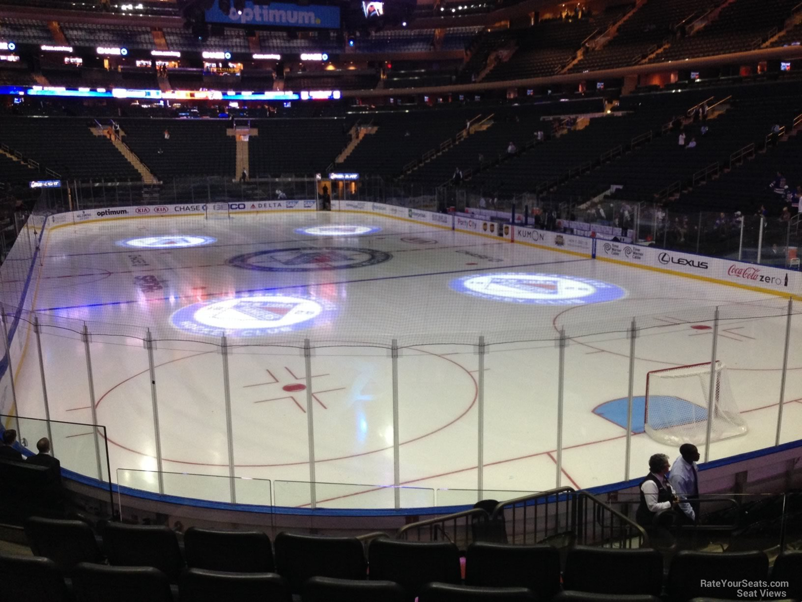 Madison Square Garden Section 101 New York Rangers