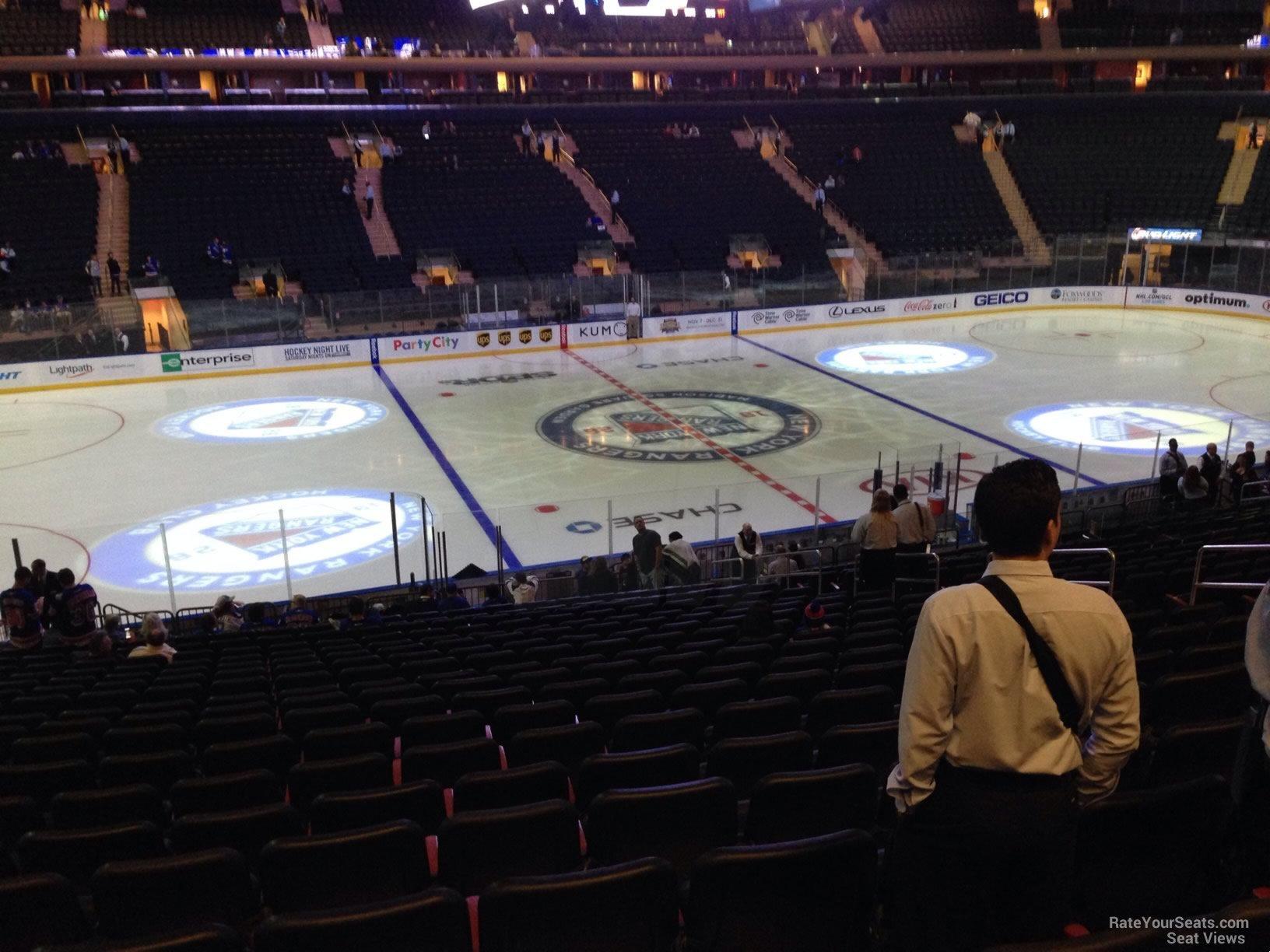 100 9 Madison Square Garden Seating Bridge Seating
