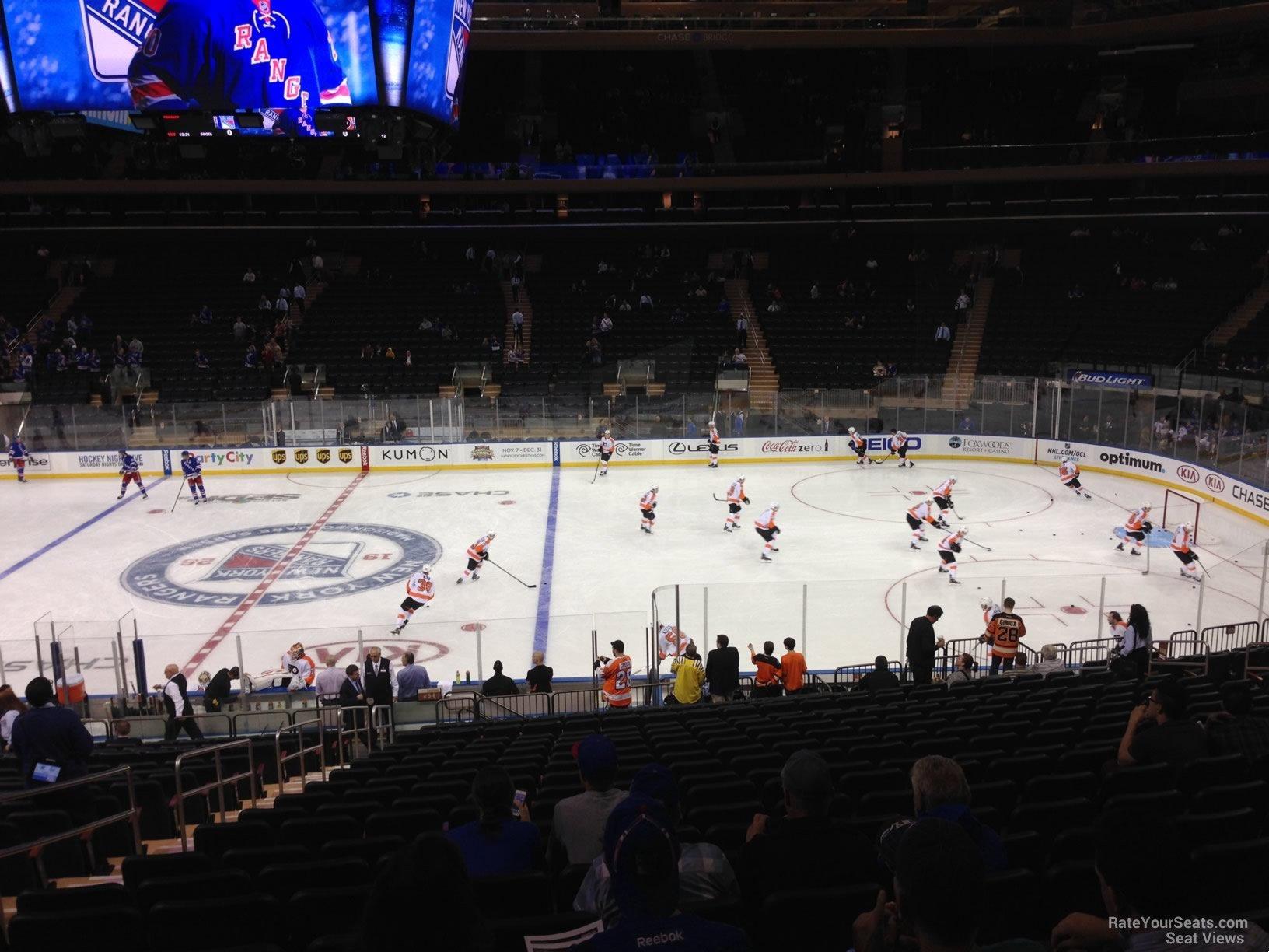Section 108 Row 18 Madison Square Garden Garden Ftempo