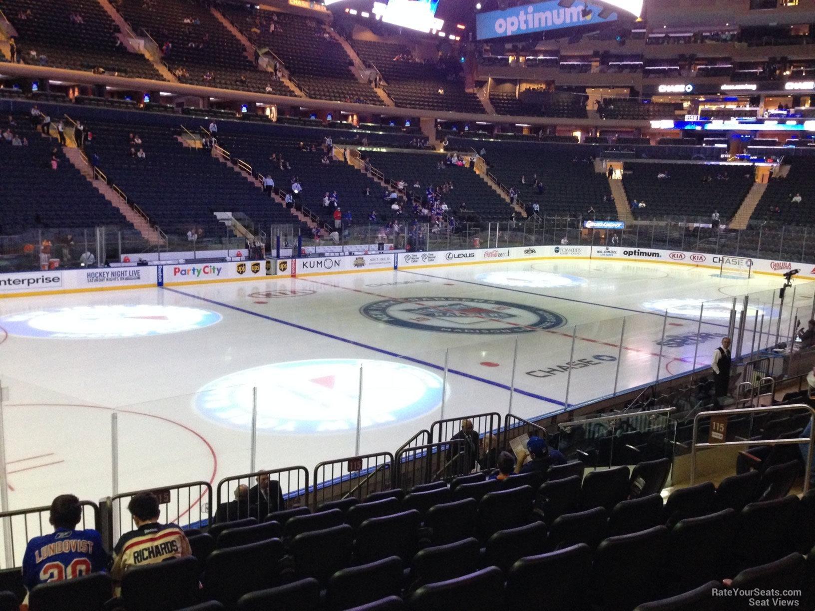 Madison Square Garden Section 115 Row 15 Garden Ftempo