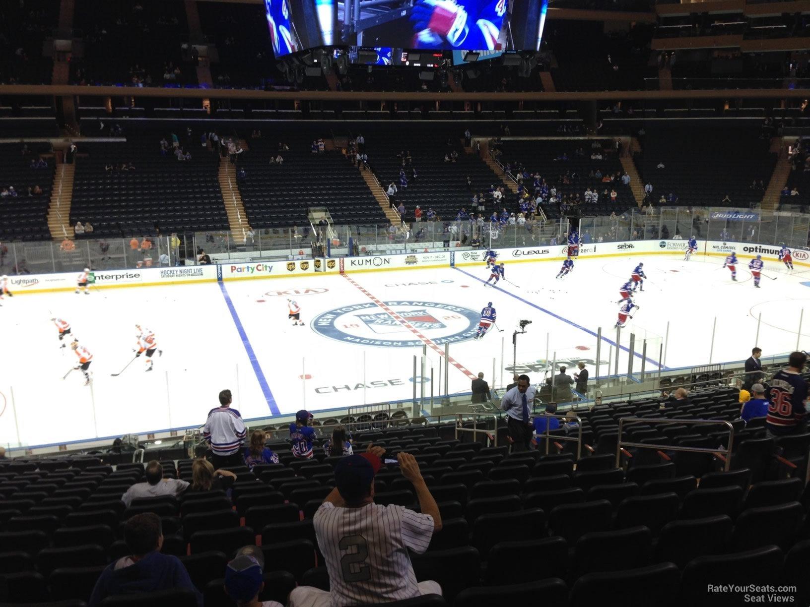 Madison Square Garden: New York Rangers Seating Guide