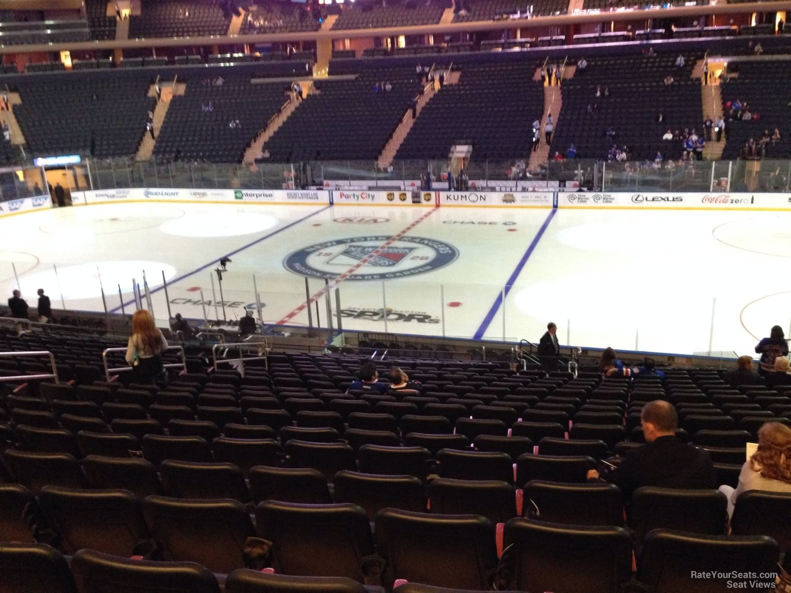 Madison Square Garden Section 118 New York Rangers