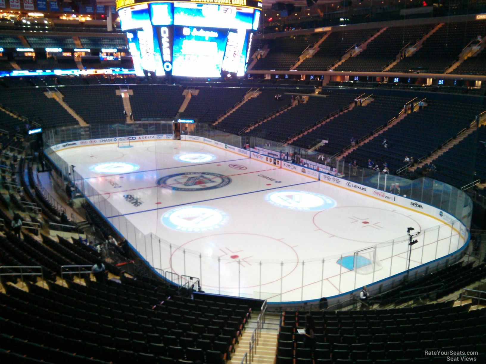 Madison Square Garden Section 202 New York Rangers
