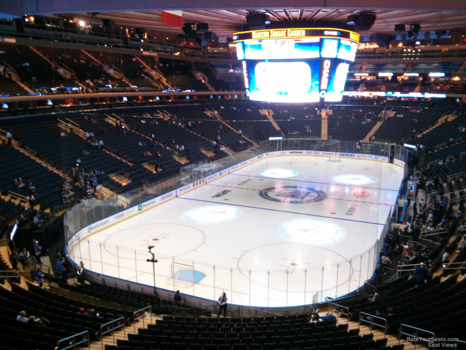Madison Square Garden Section 219 New York Rangers