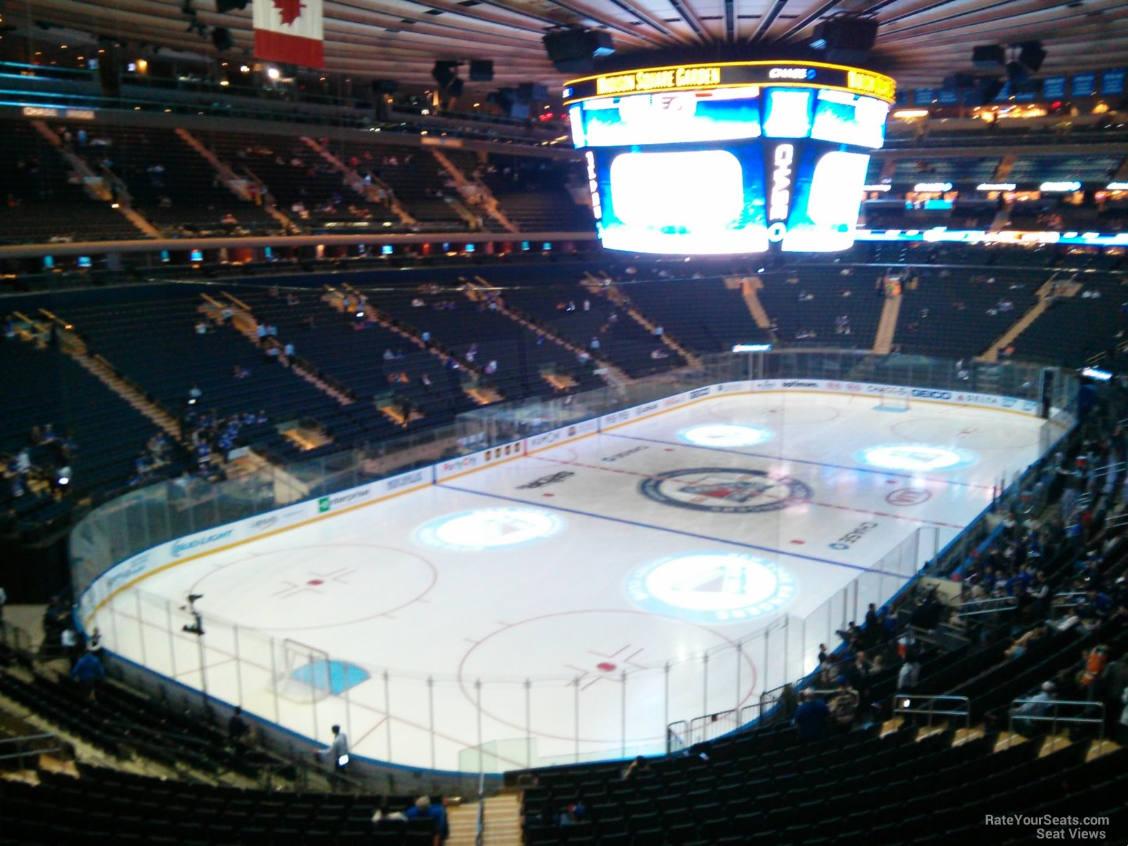 Madison Square Garden Section 220 New York Rangers