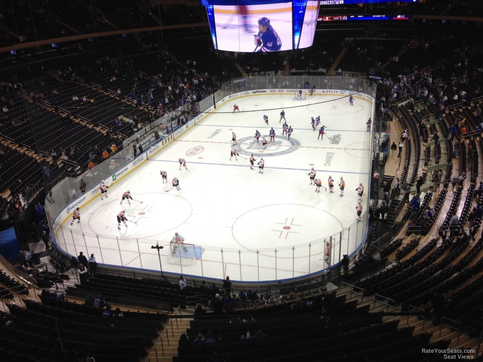 Madison Square Garden Section 418 New York Rangers