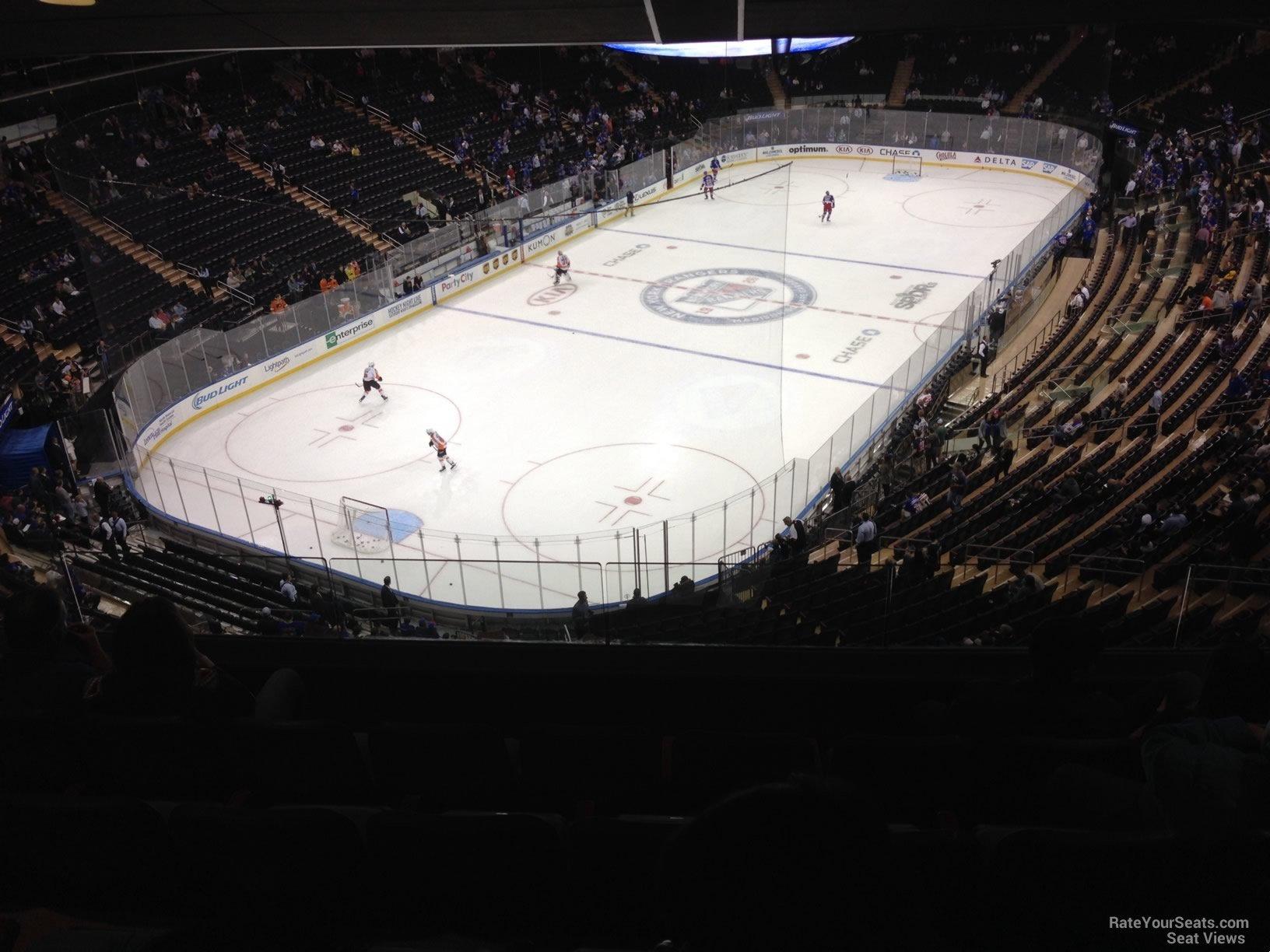 Madison Square Garden Section 419 New York Rangers