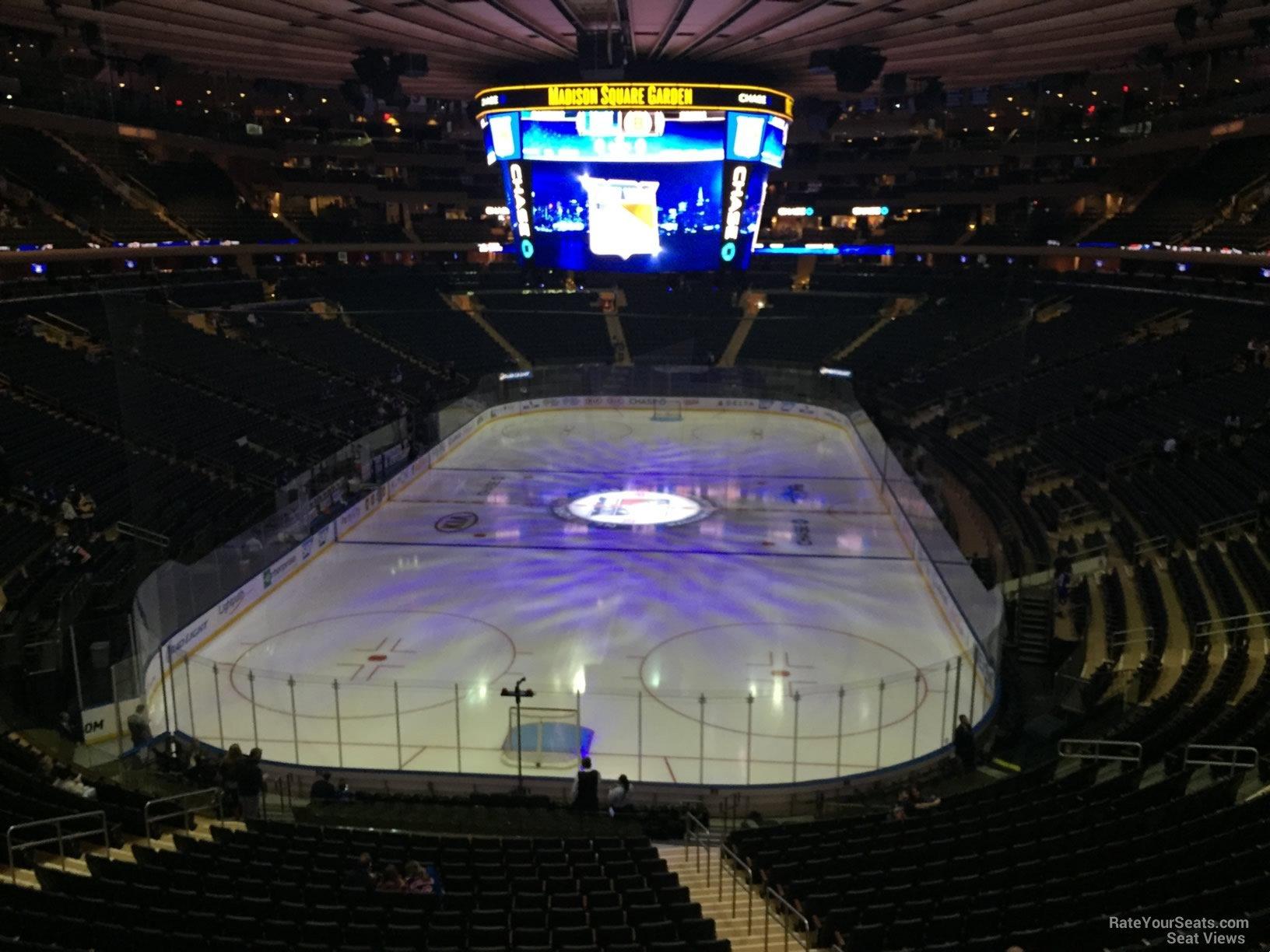 Madison Square Garden Section 218 New York Rangers