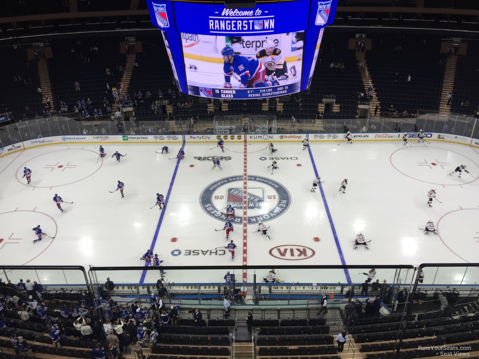 Madison Square Garden Section 313 New York Rangers