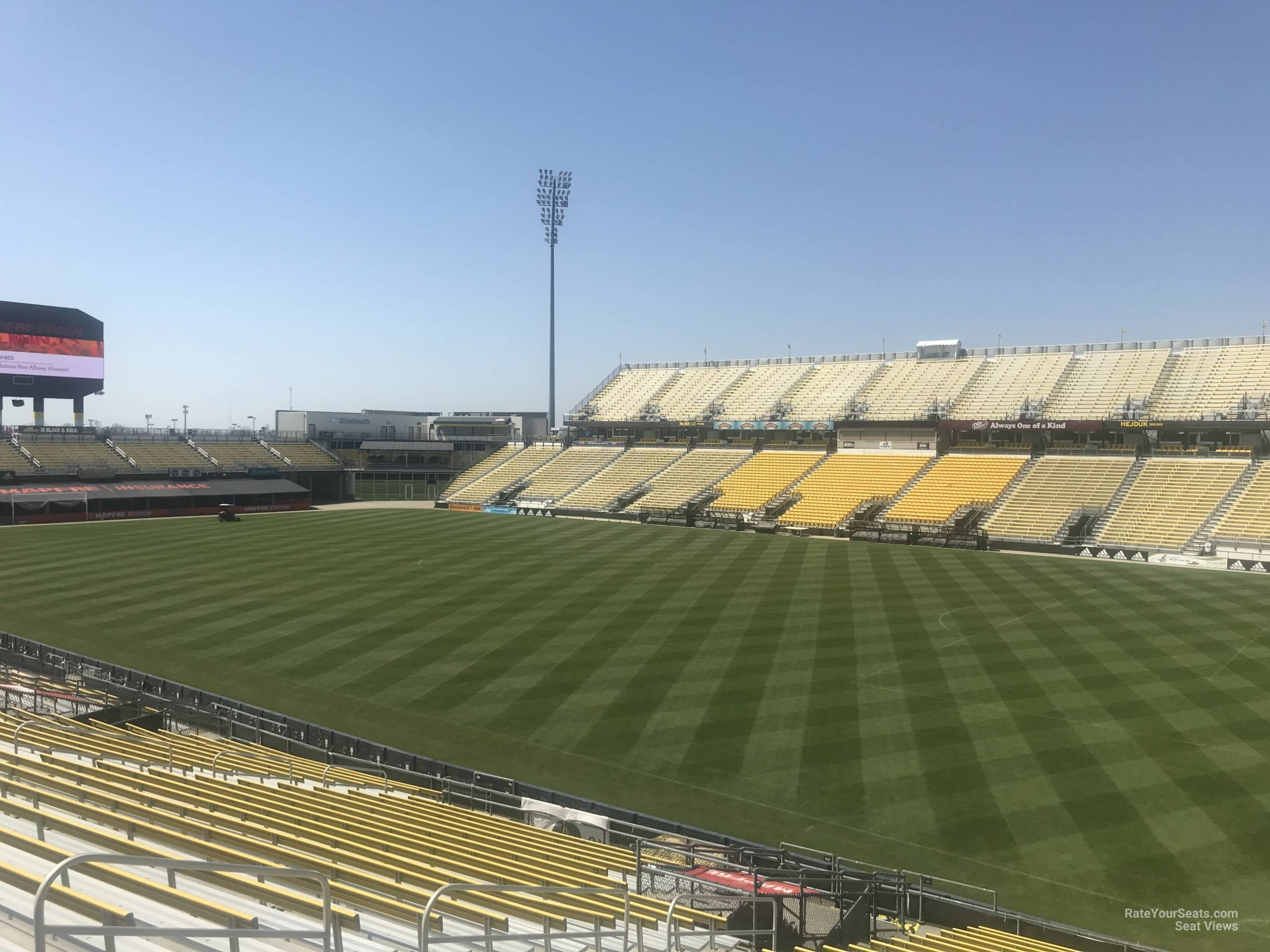 Seat View For Mapfre Stadium Section 101 Row 24