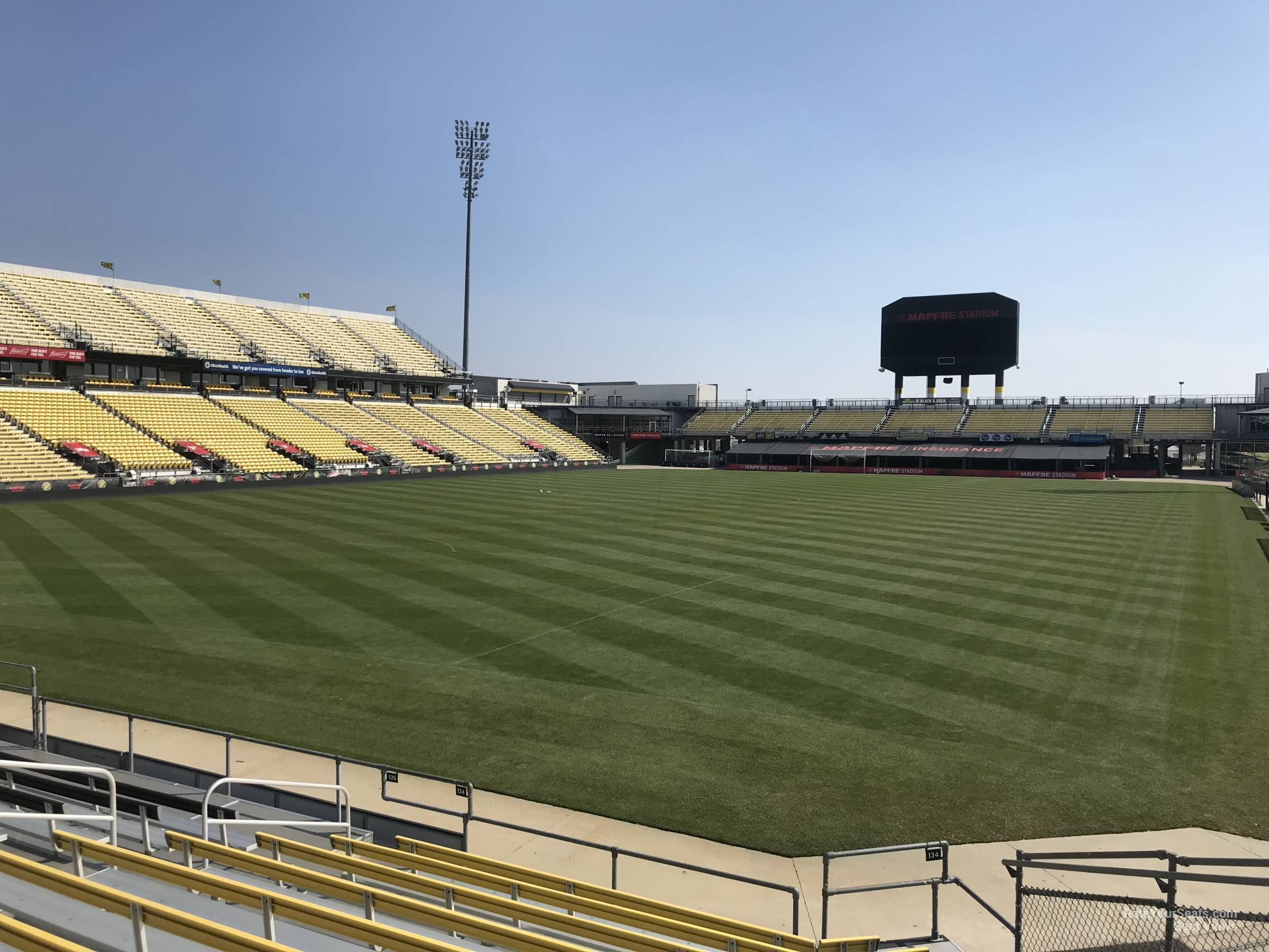 Mapfre Stadium Section 134