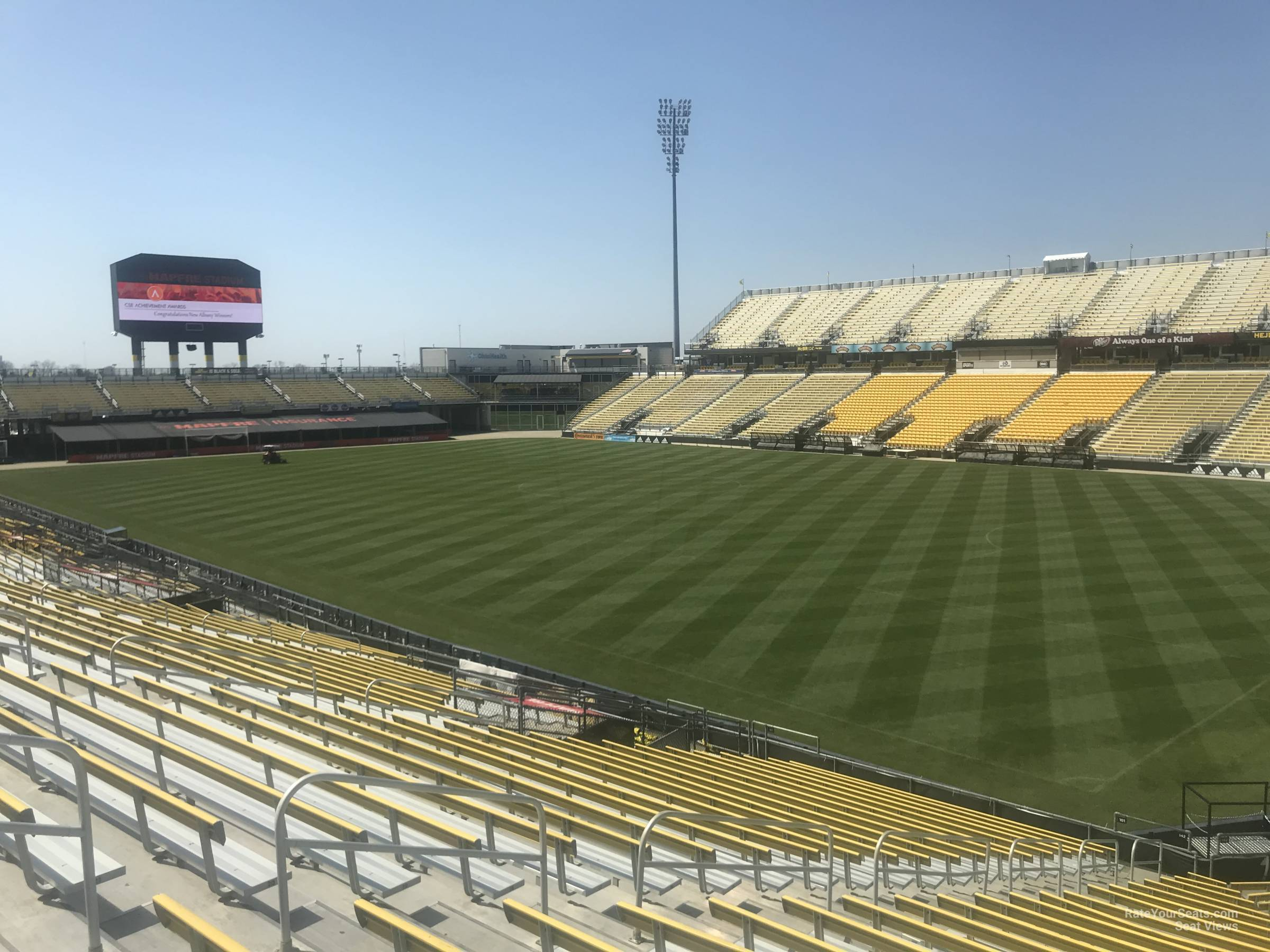Seat View for Mapfre Stadium Section 142, Row 24