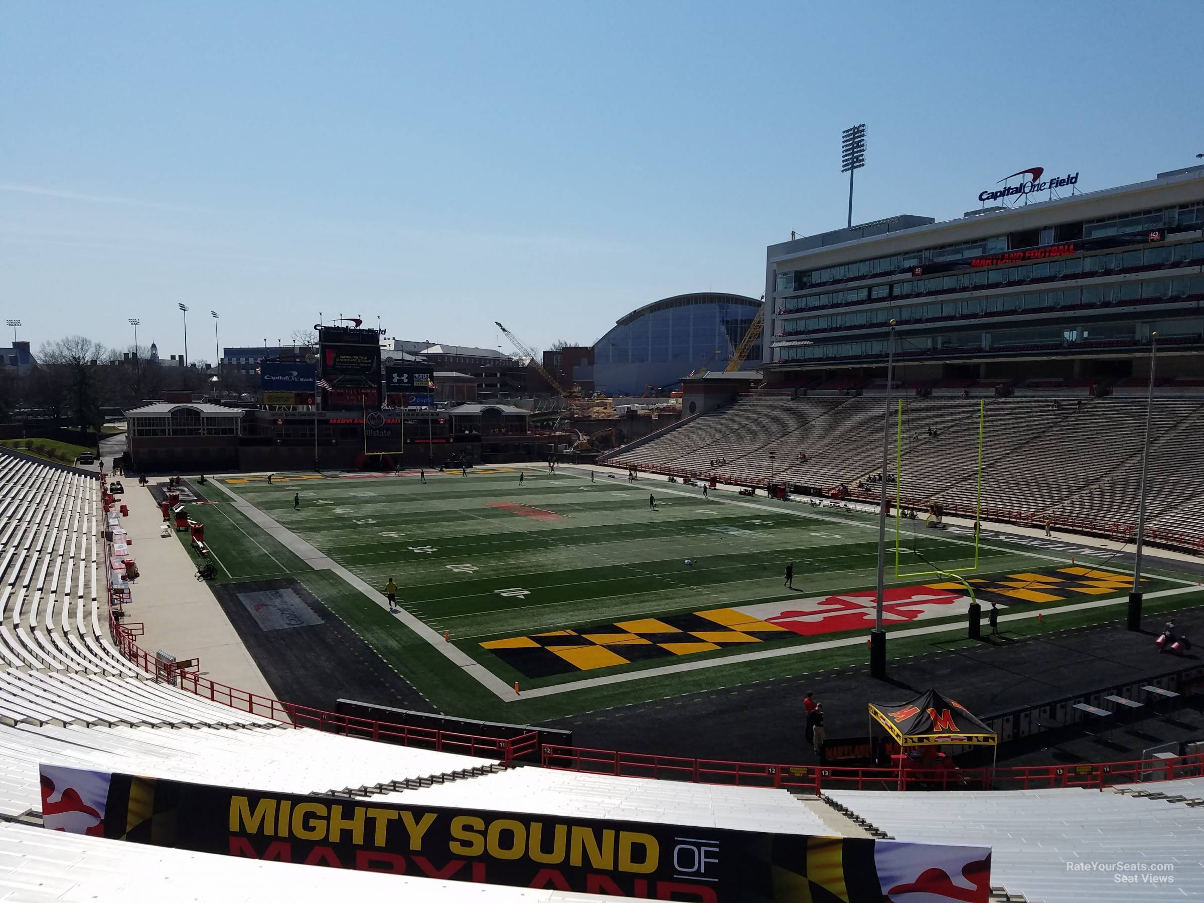 Seat View for Maryland Stadium Section 12, Row SS