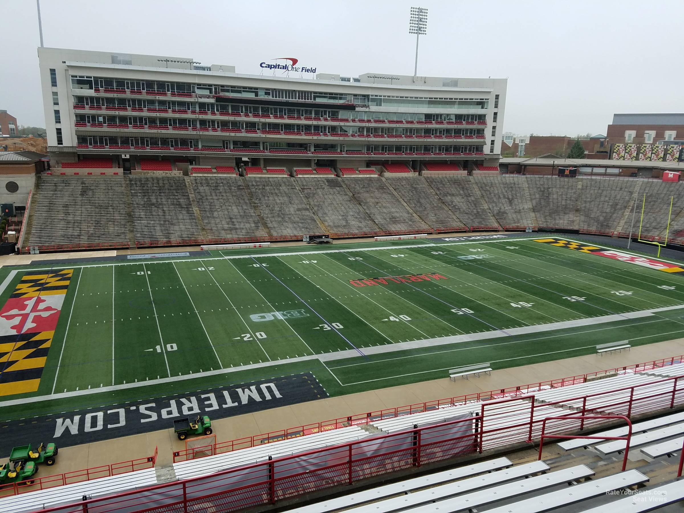 Seat View for Maryland Stadium Section 203, Row J