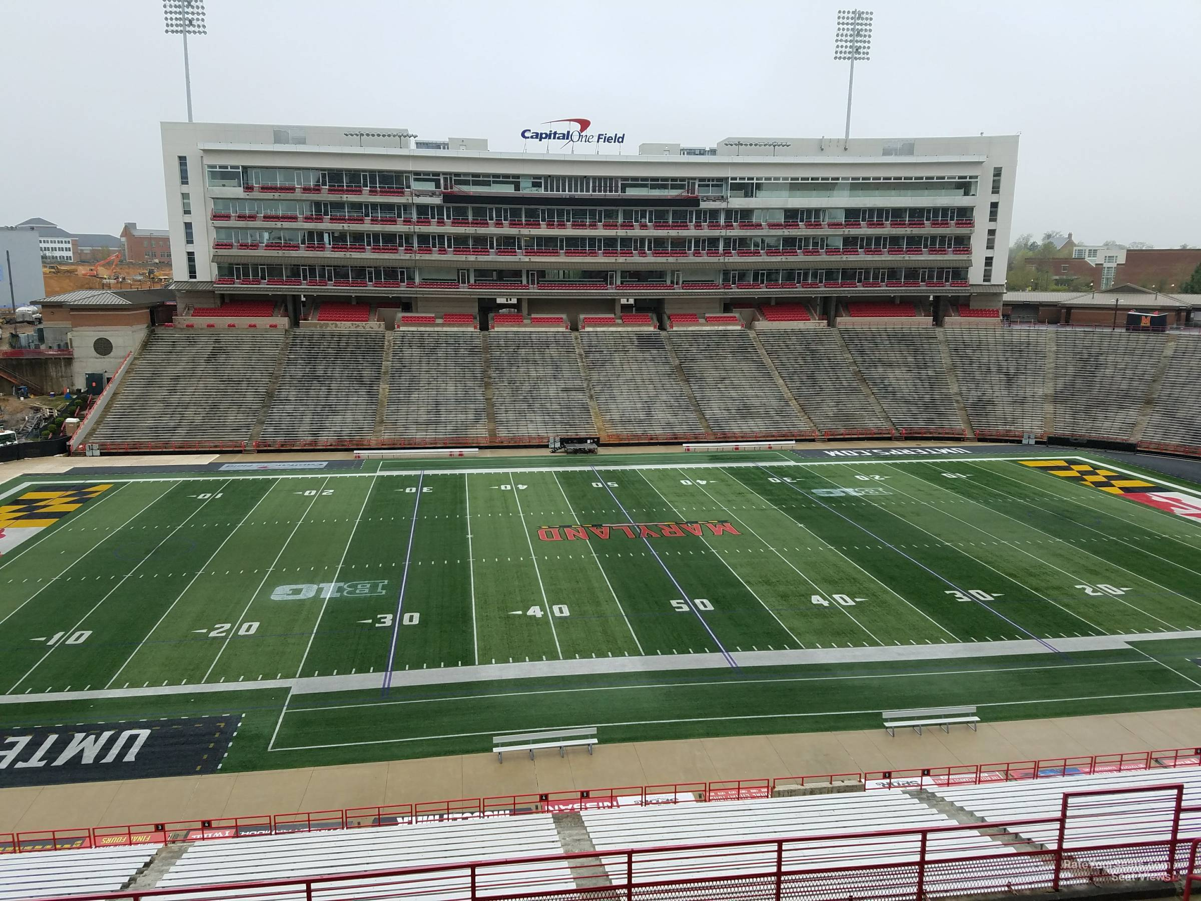 Seat View for Maryland Stadium Section 205, Row J