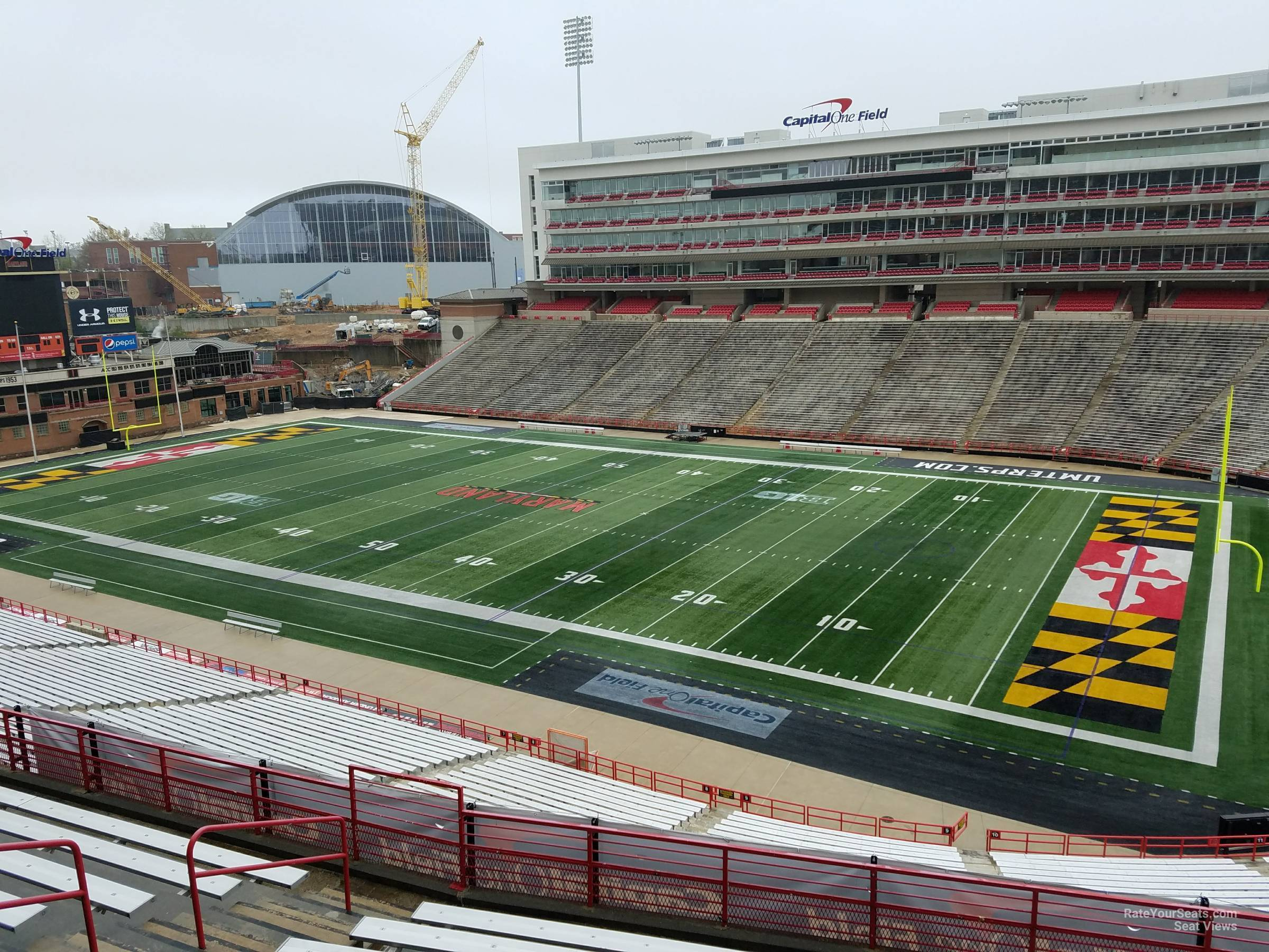 Seat View for Maryland Stadium Section 211, Row J