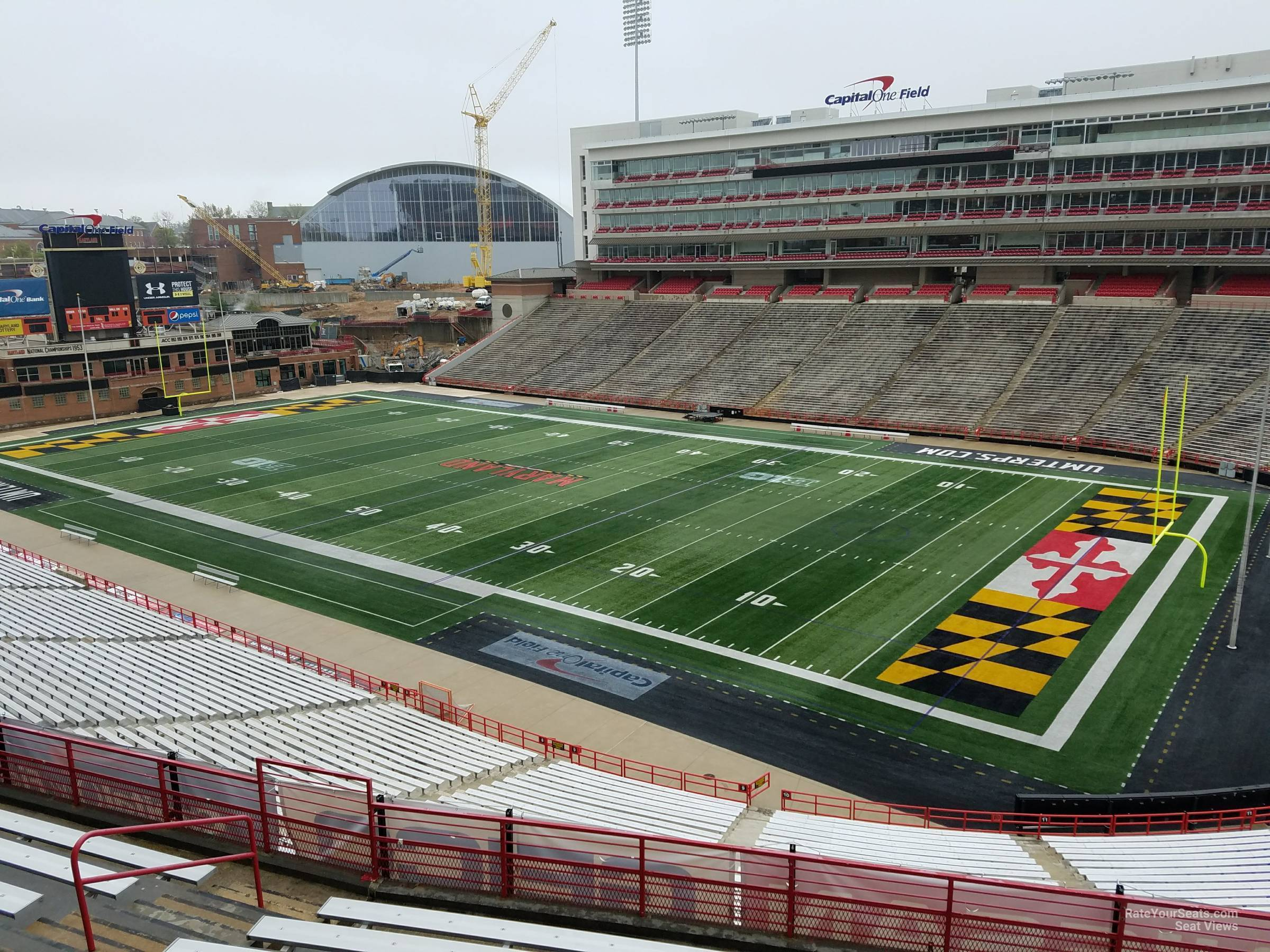 Seat View for Maryland Stadium Section 212, Row J