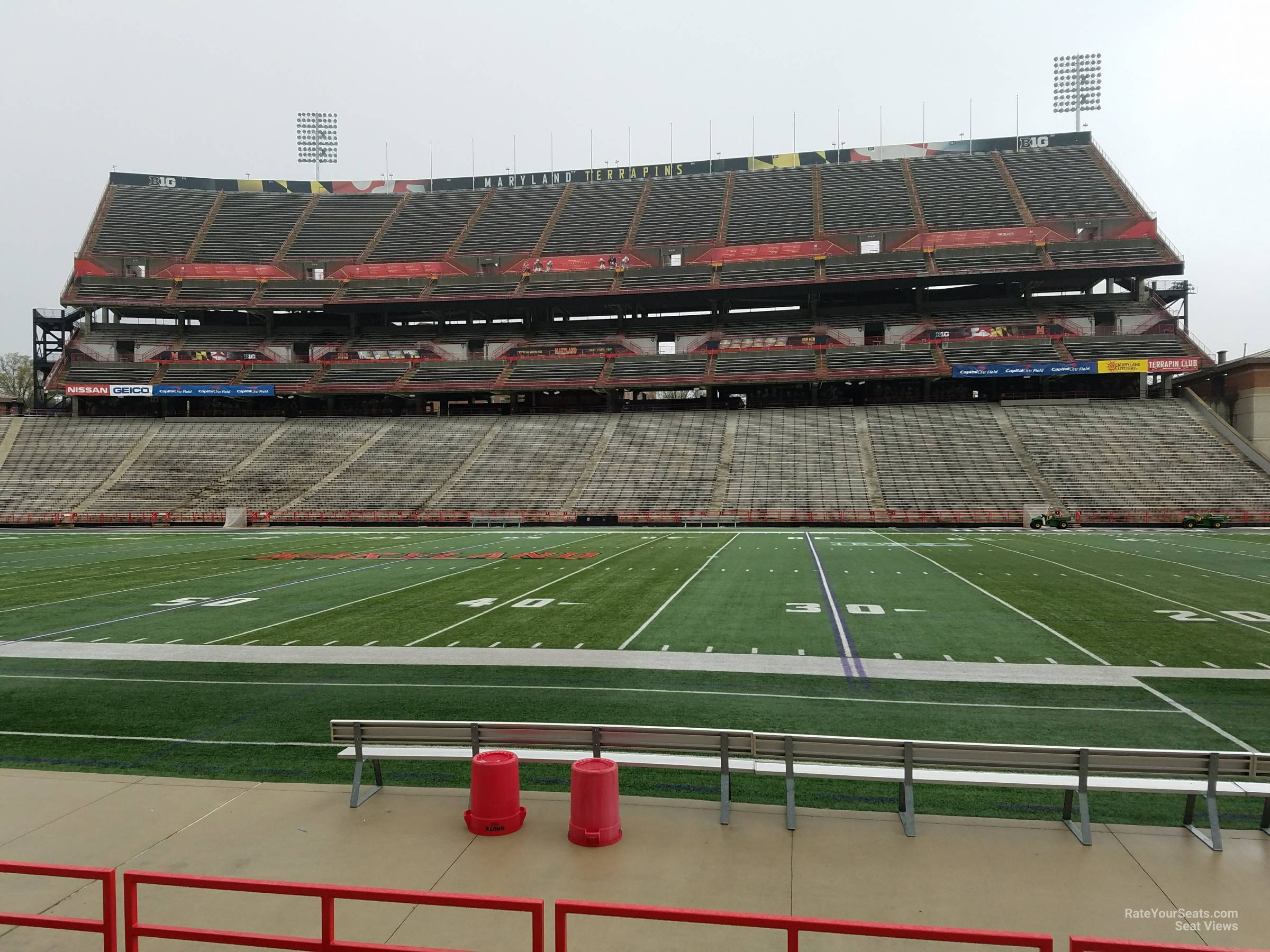 Seat View for Maryland Stadium Section 26, Row G