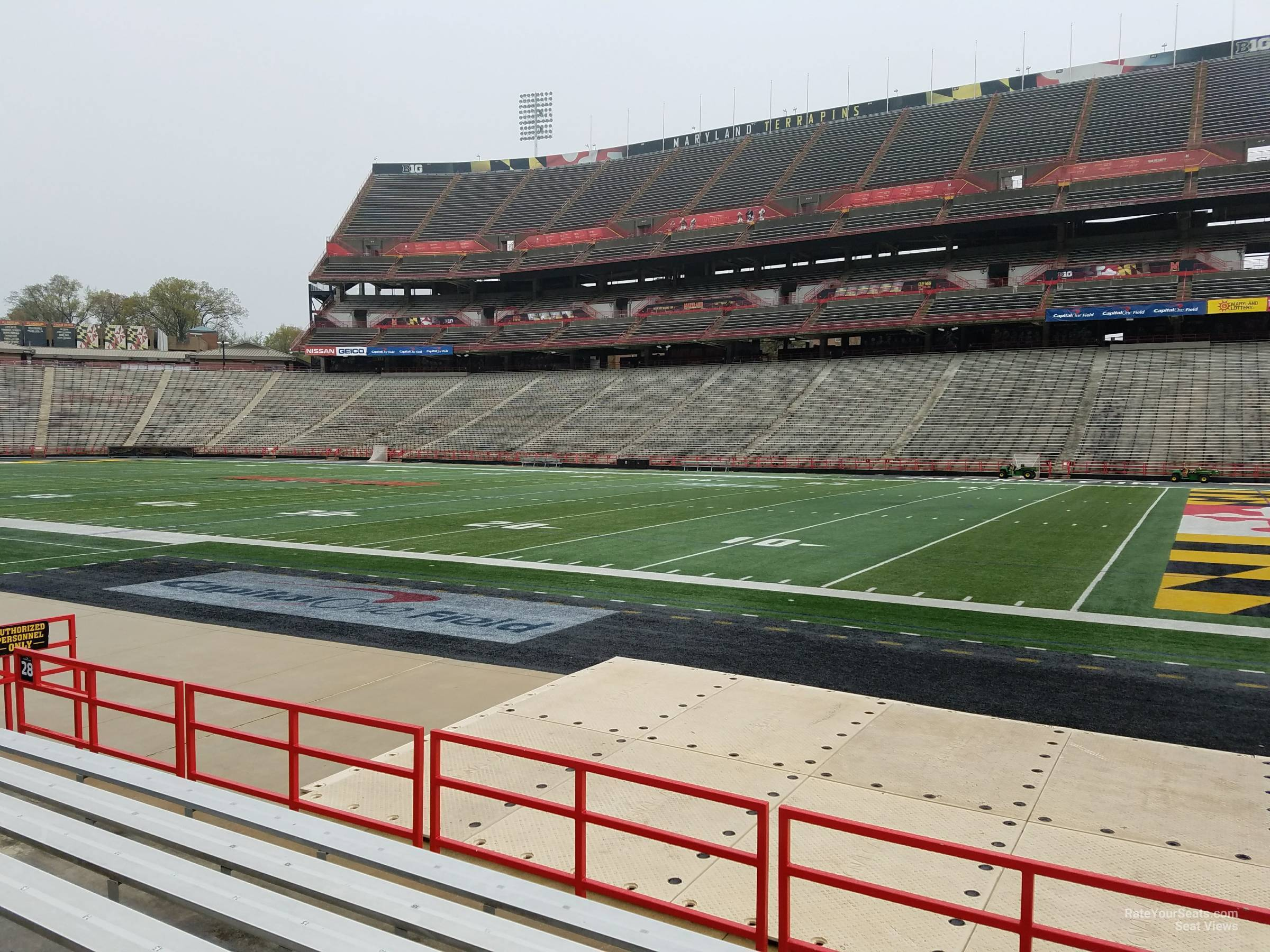 Seat View for Maryland Stadium Section 28, Row G