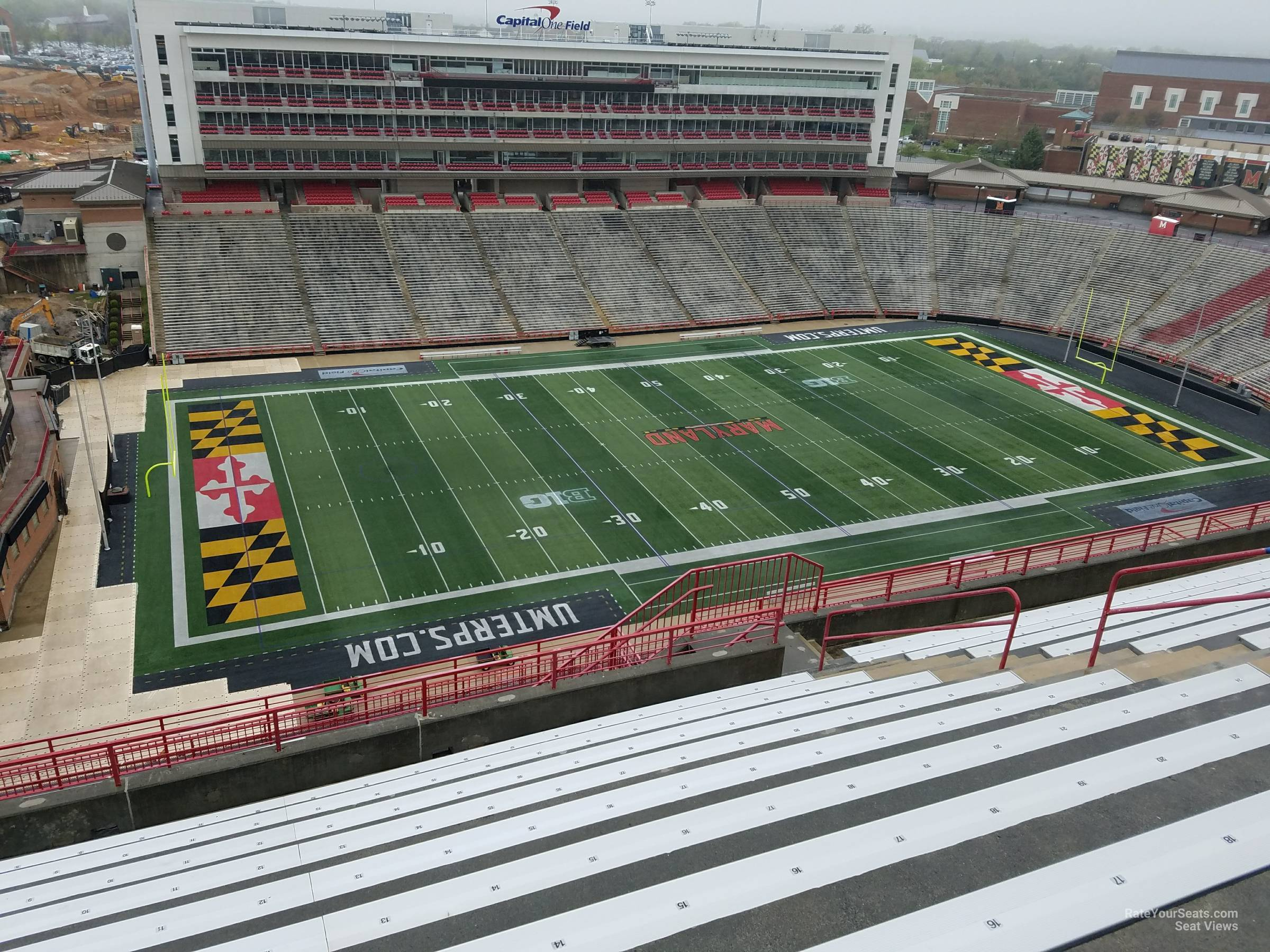 Seat View for Maryland Stadium Section 302, Row S