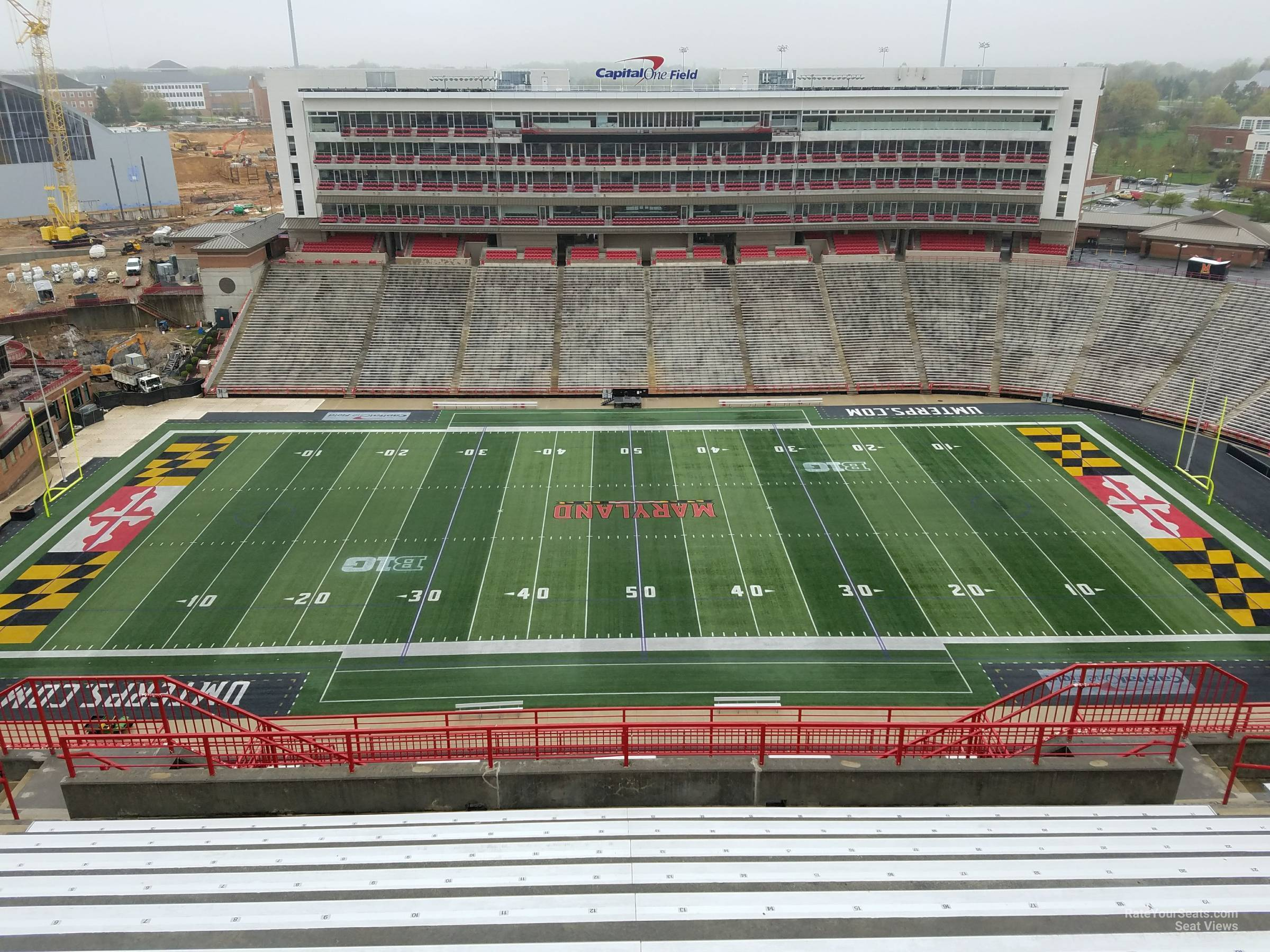 Seat View for Maryland Stadium Section 306, Row S