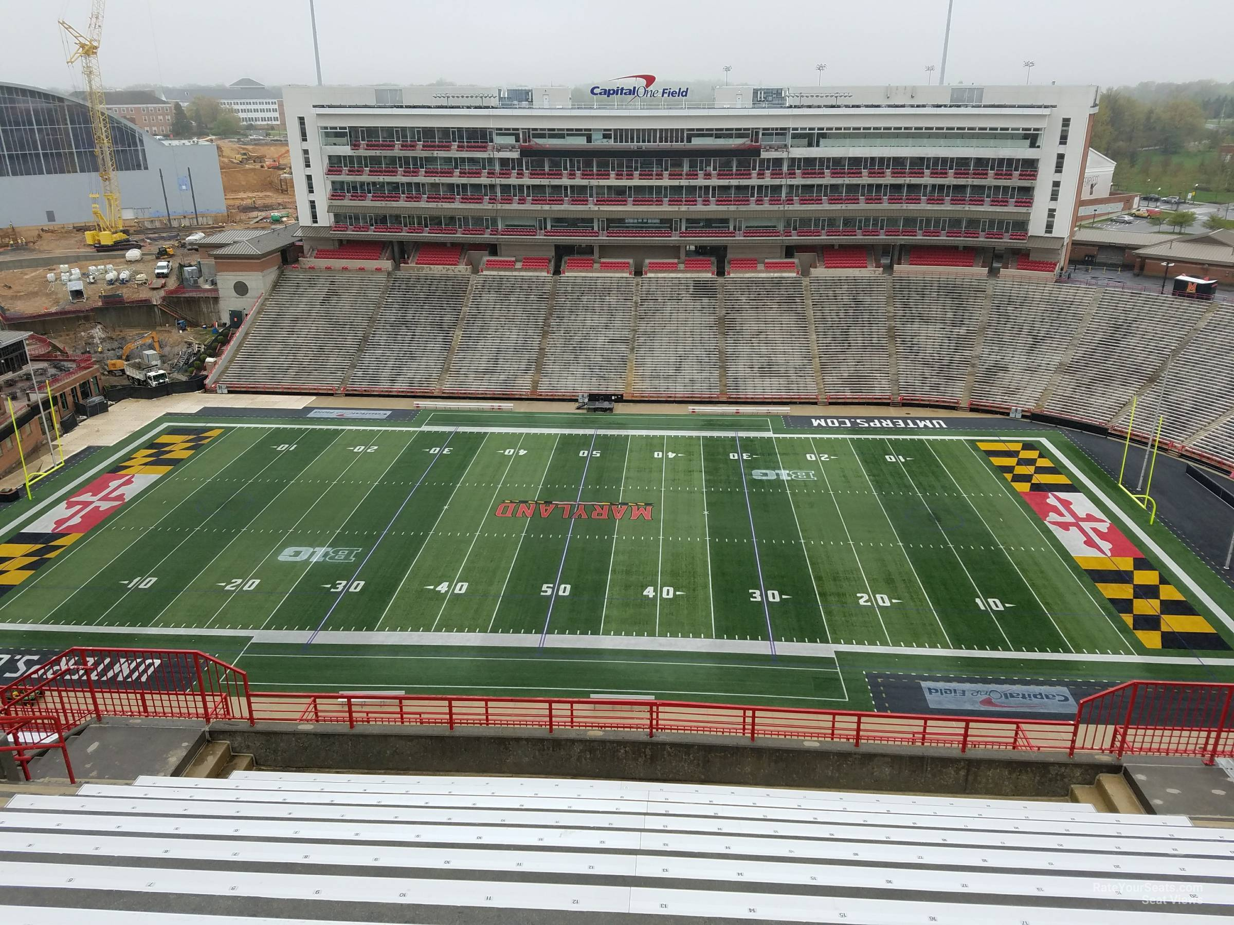 Seat View for Maryland Stadium Section 307, Row S