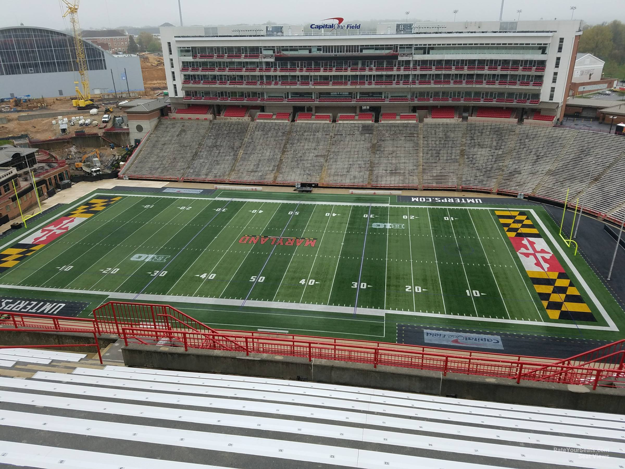 Seat View for Maryland Stadium Section 308, Row S