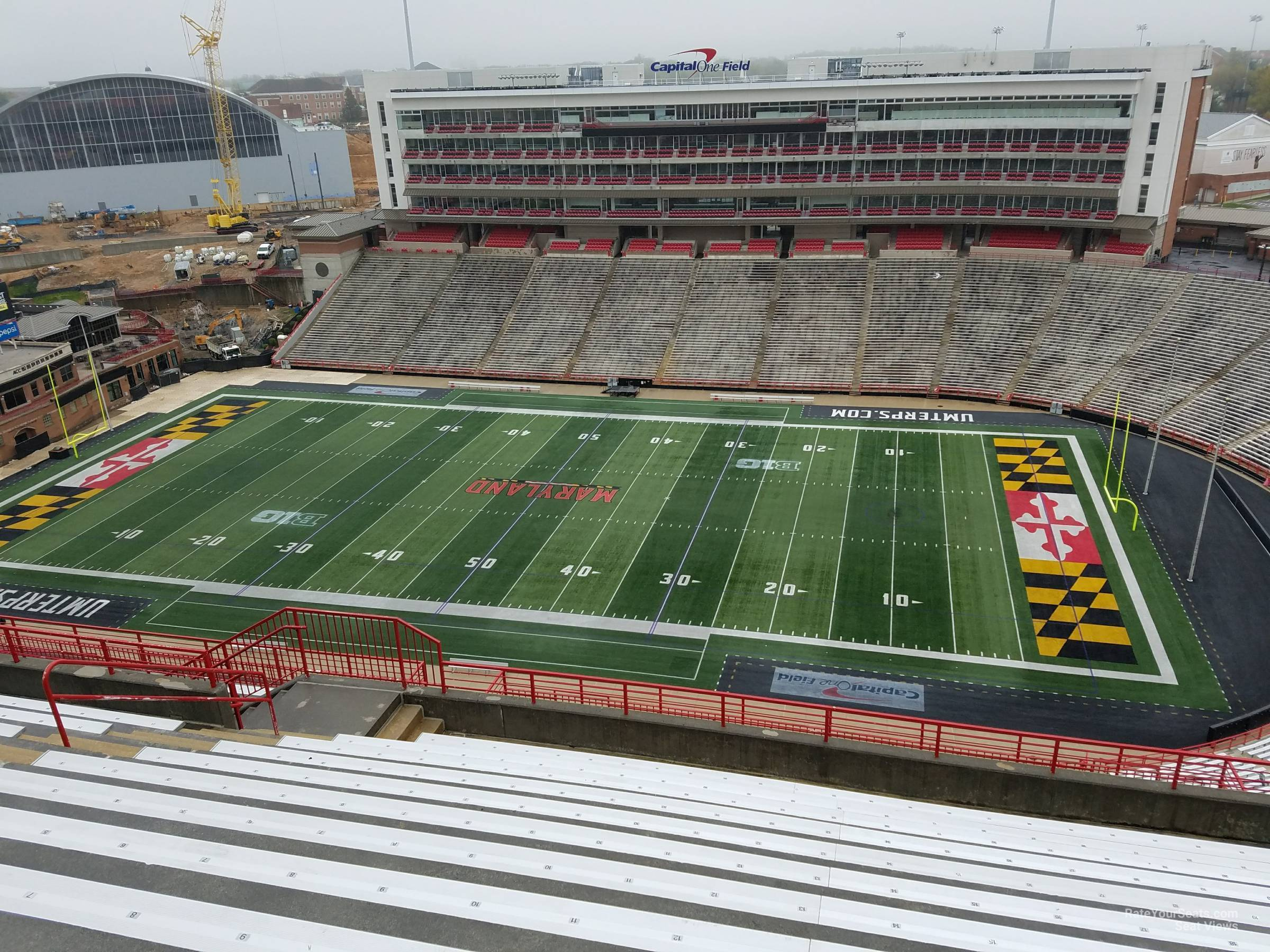 Seat View for Maryland Stadium Section 309, Row S