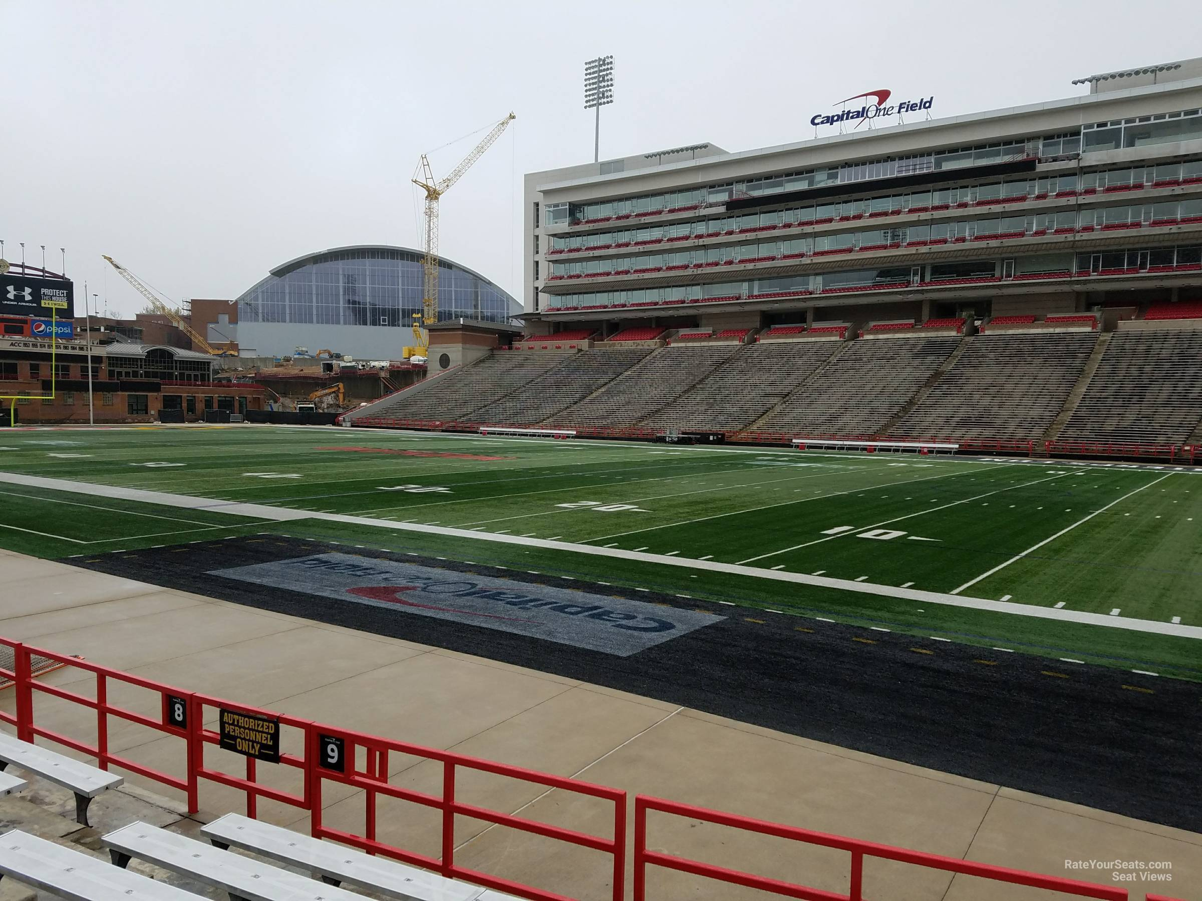Seat View for Maryland Stadium Section 9, Row G