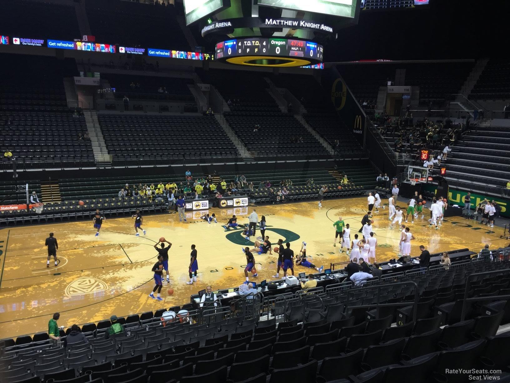 Matthew Knight Arena Oregon Seating Guide