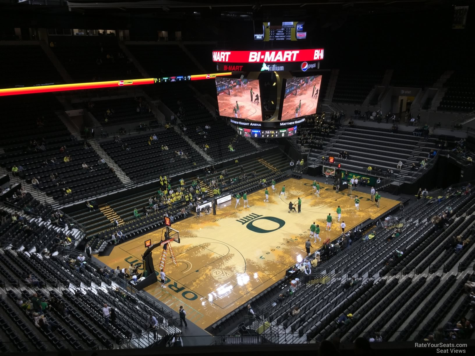 Matthew Knight Arena Section 206 Rateyourseats Com