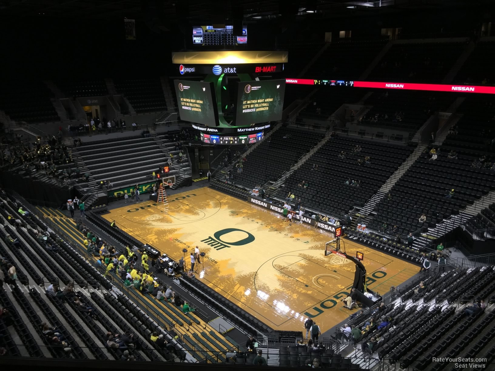 Matthew Knight Arena Section 209 Rateyourseats Com