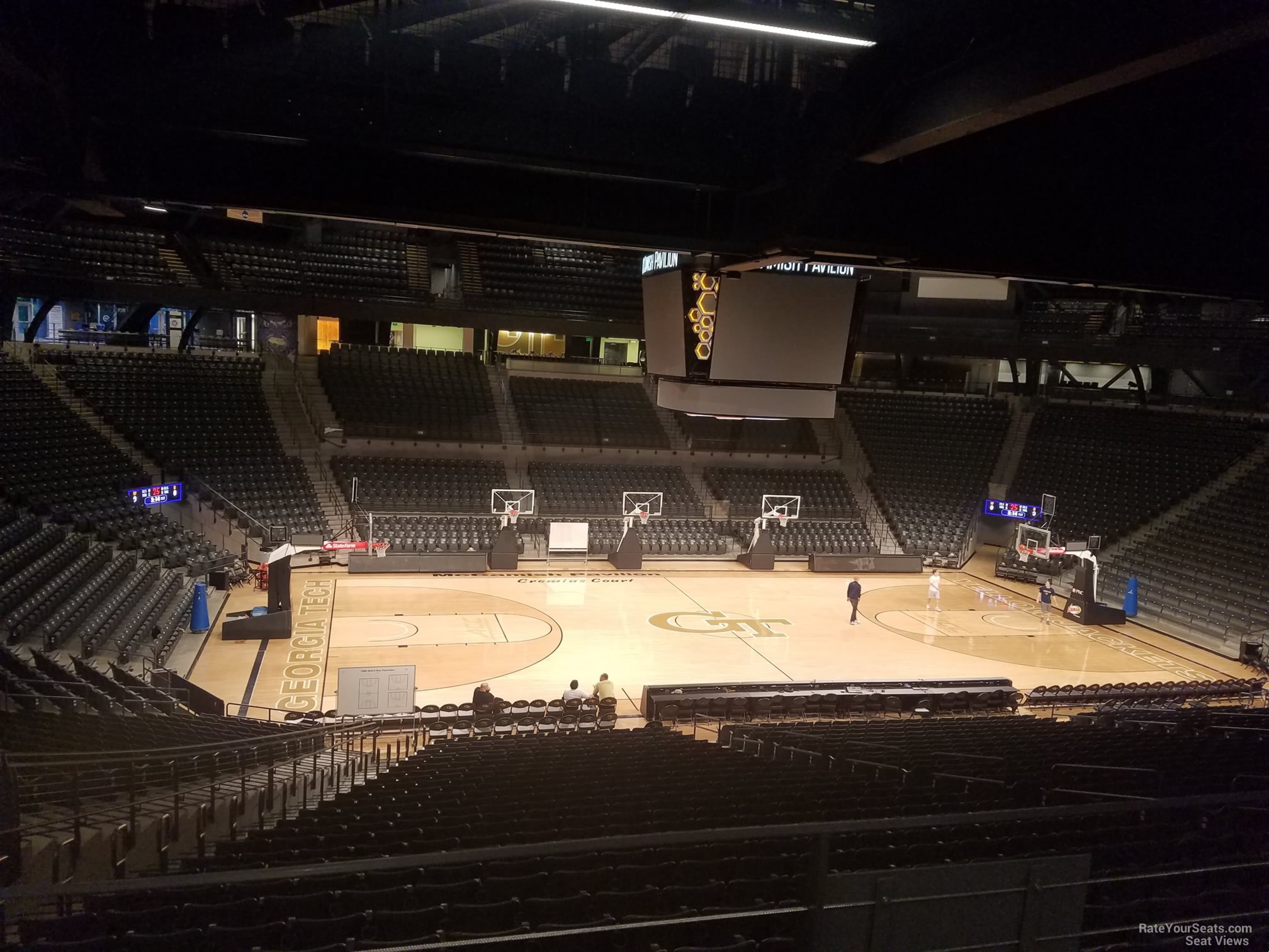 Seat View for McCamish Pavilion Section 102