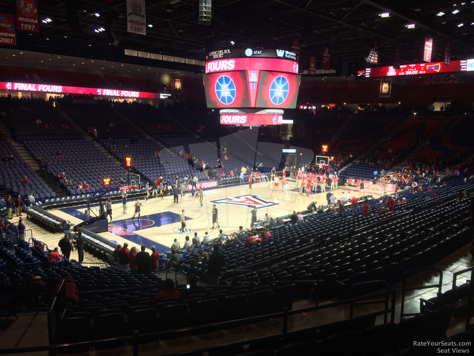 Section 6 seat view