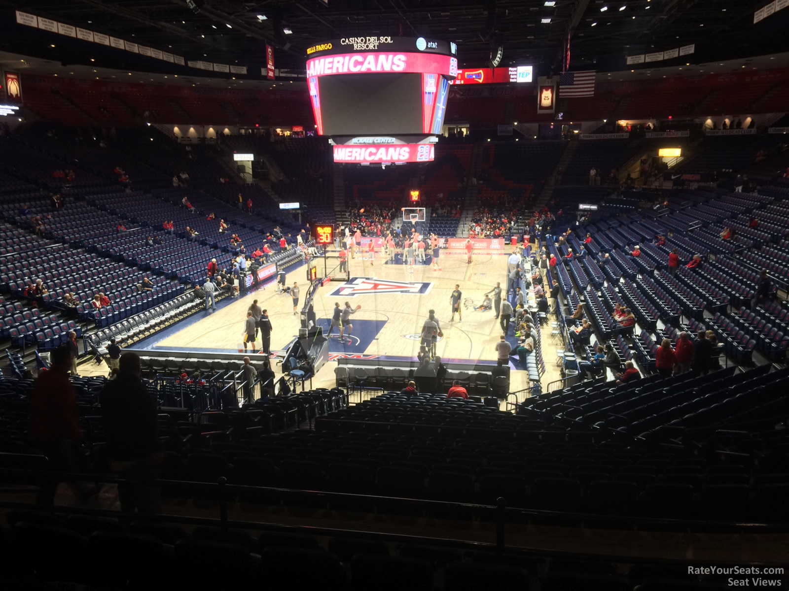 Section 8 seat view