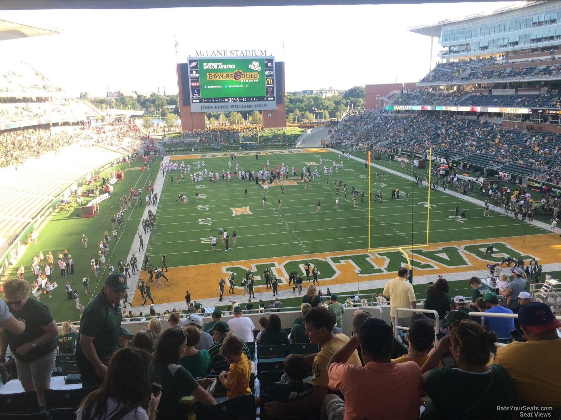 Mclane Stadium Section 215 Rateyourseats Com