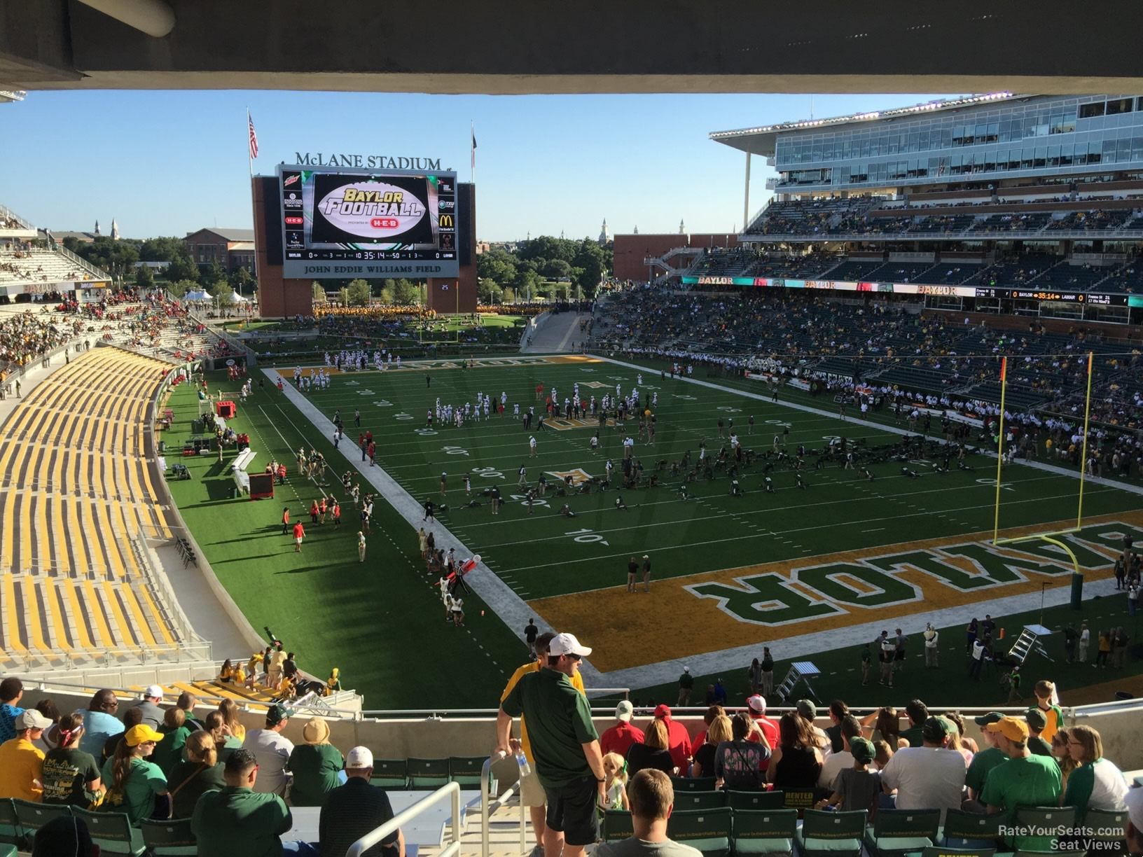 Seat View for McLane Stadium Section 217