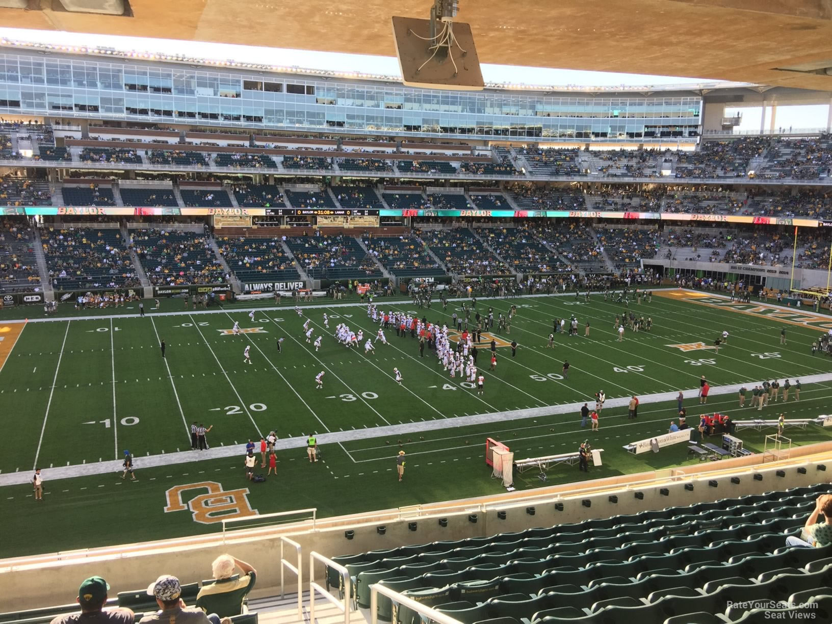 Seat View for McLane Stadium Section 227