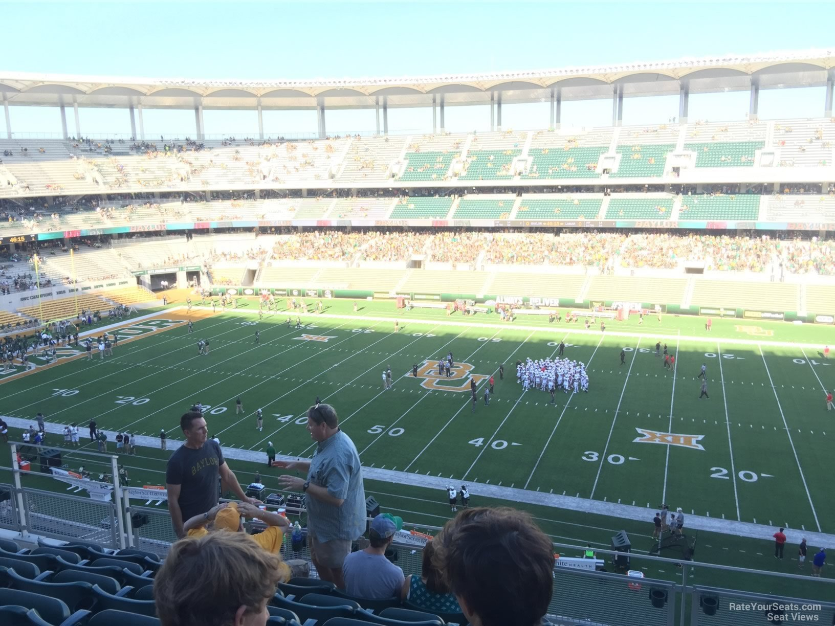 Seat View for McLane Stadium Section 304, Row 6