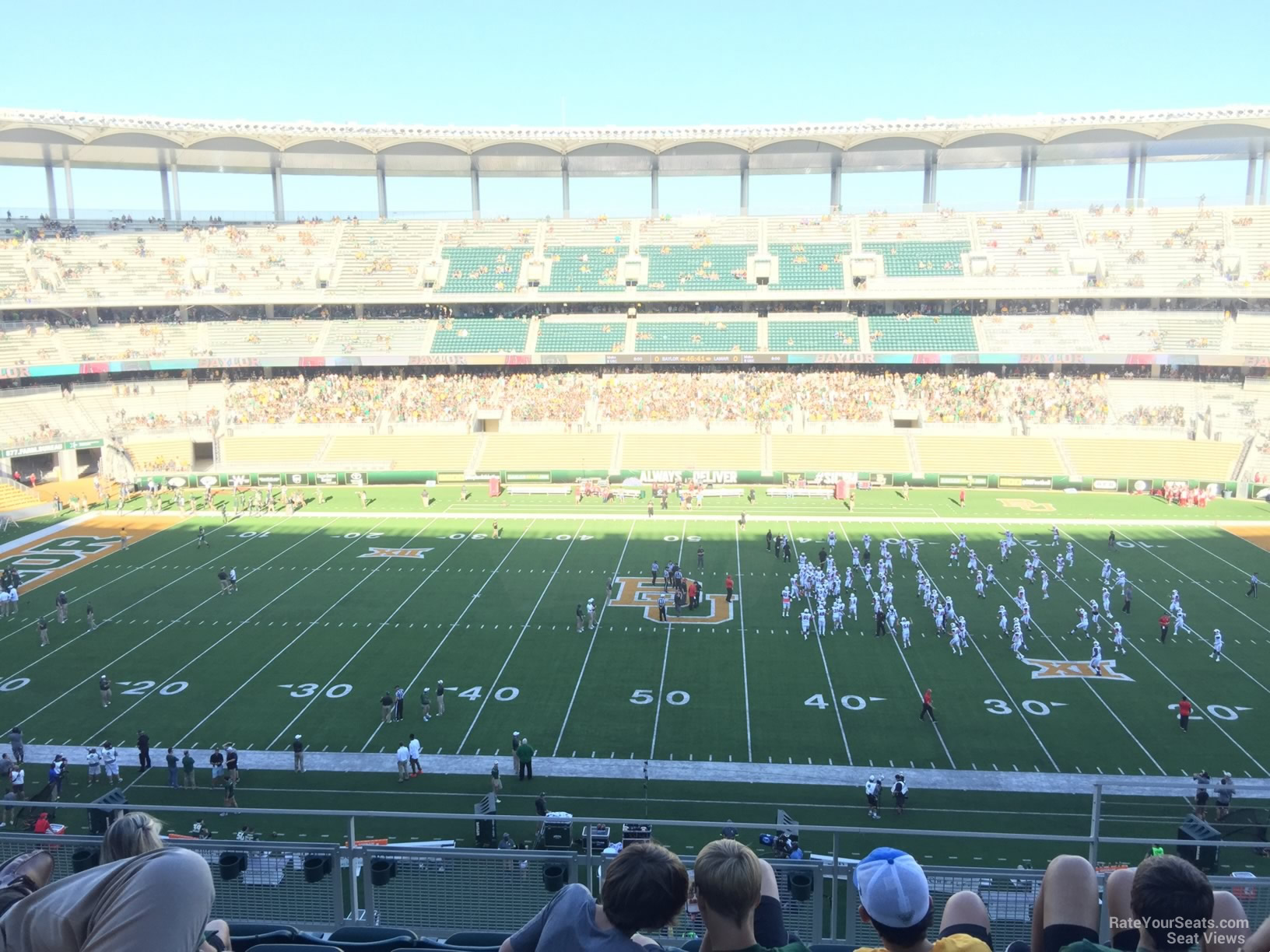 Seat View for McLane Stadium Section 306, Row 6