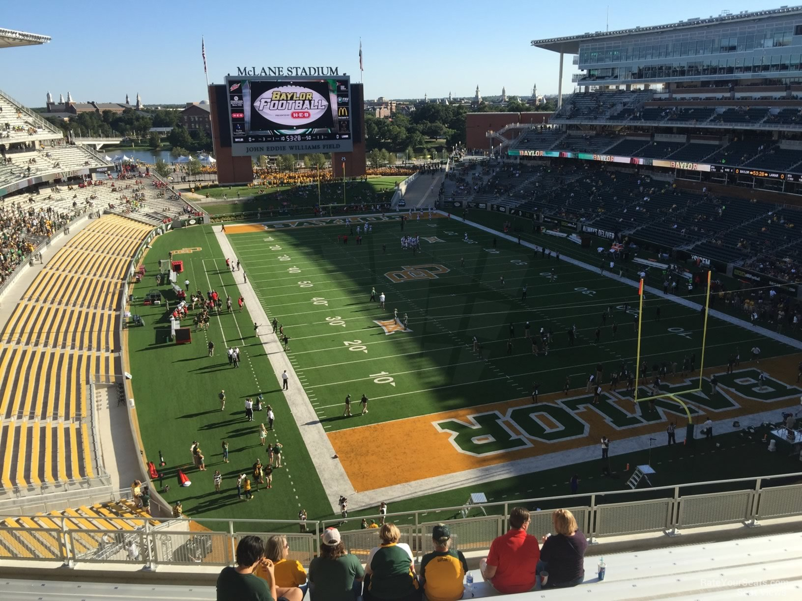 Seat View for McLane Stadium Section 317