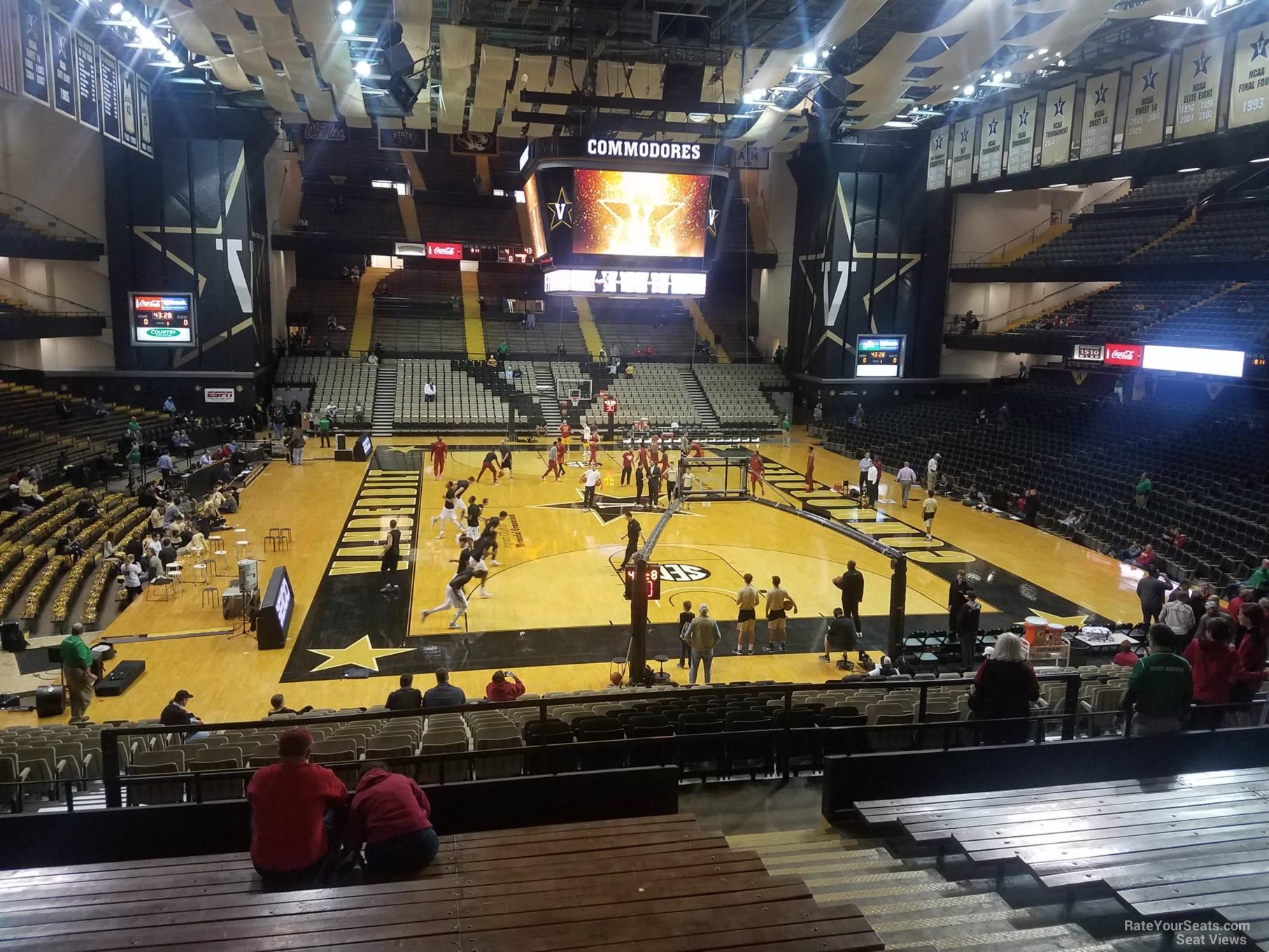 Memorial Gymnasium Section 2f Rateyourseatscom