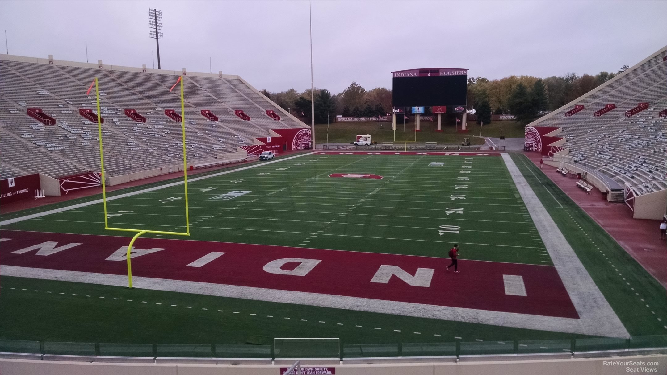 Seat View for Memorial Stadium - IN Section 15, Row 30