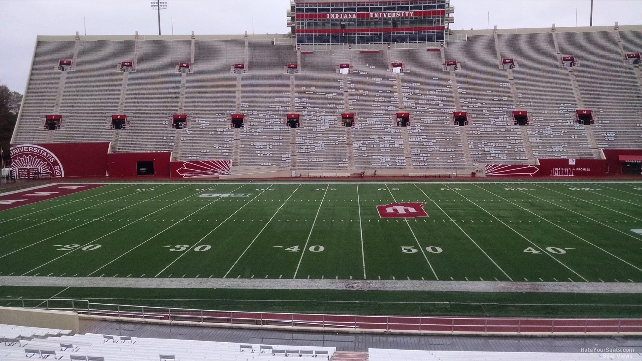 Memorial Stadium - IN Section 27 - RateYourSeats.com