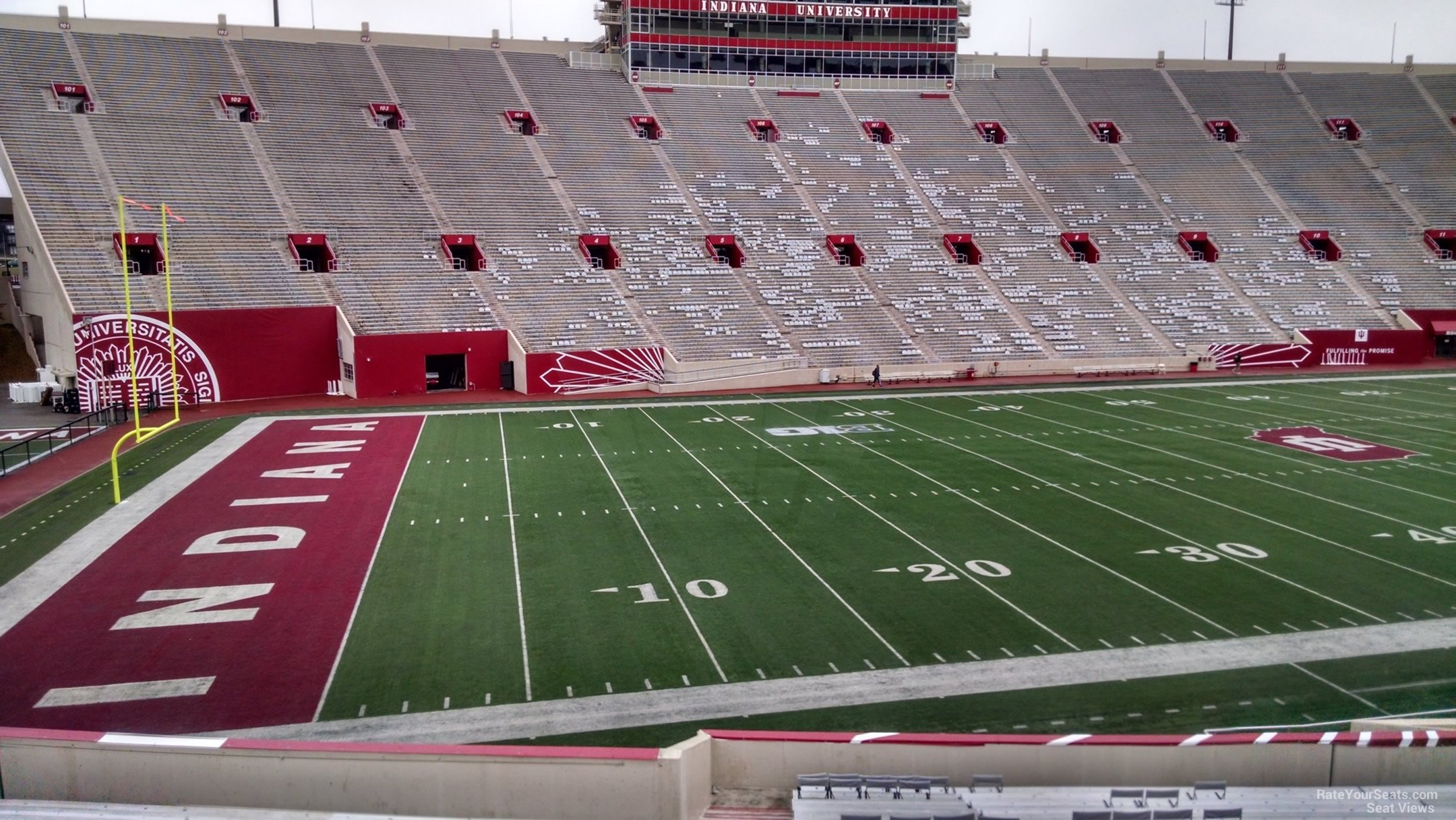 Seat View For Memorial Stadium Section 30