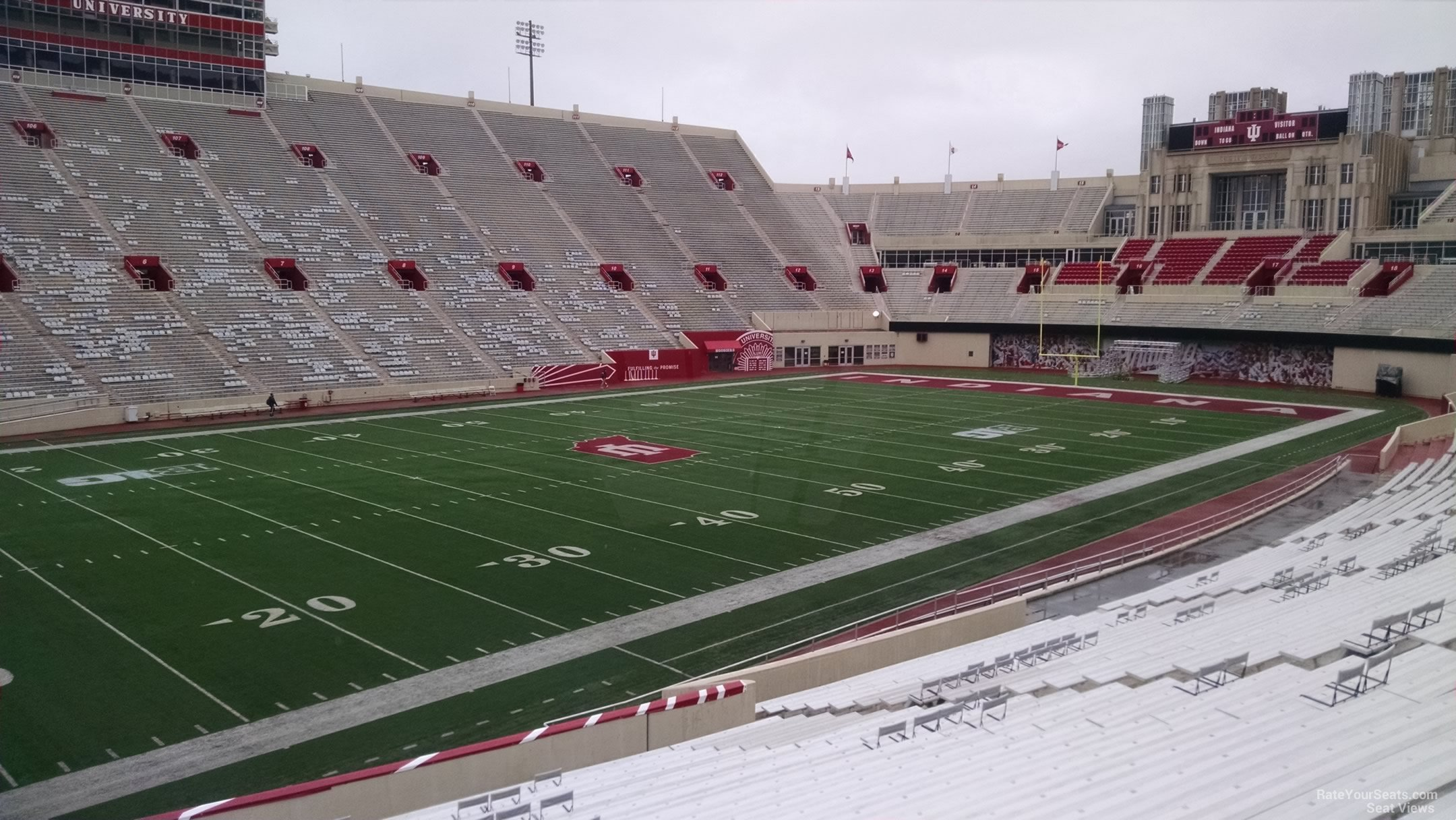 Memorial Stadium Indiana Section 30