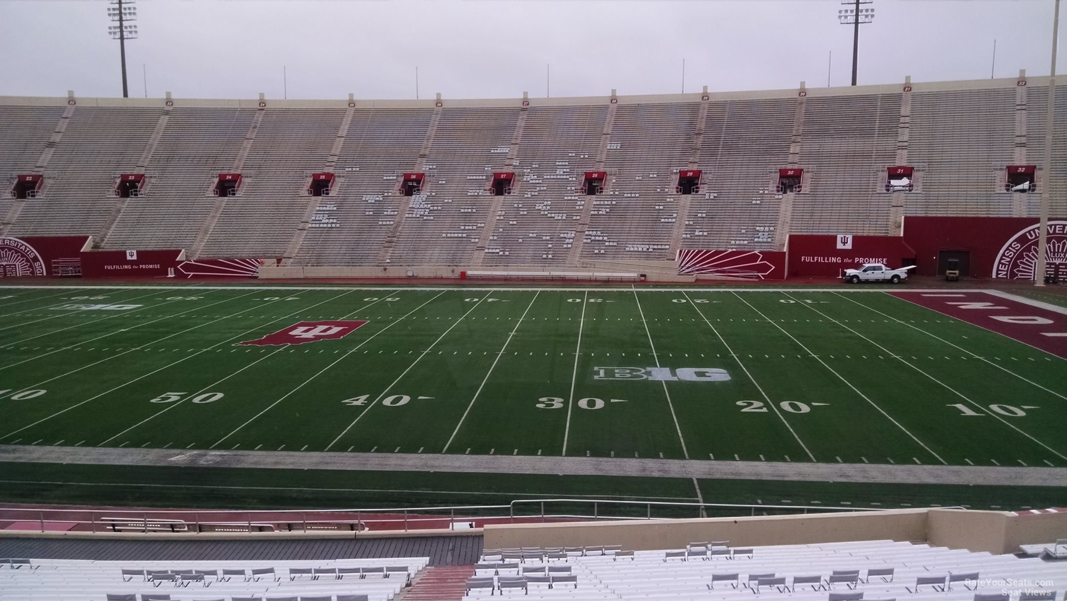 Seat View for Memorial Stadium Section 5, Row 30