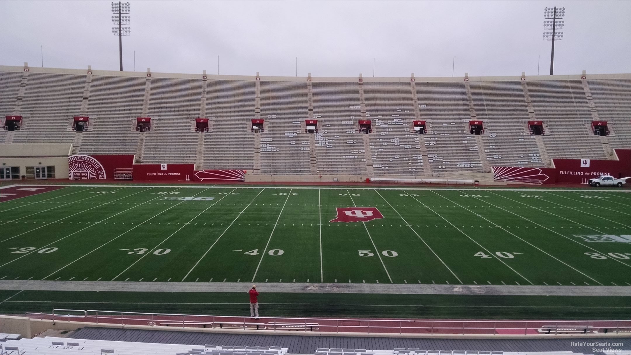 Seat View for Memorial Stadium Section 7, Row 30
