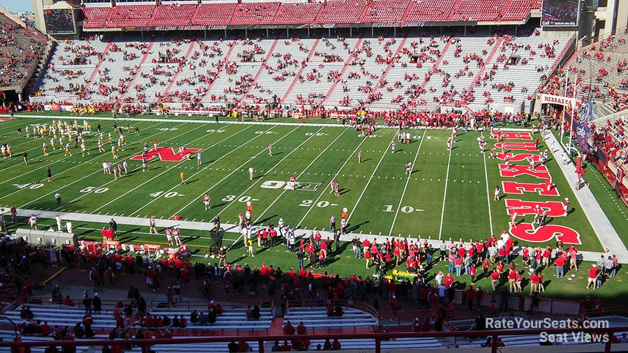 Seat View For Memorial Stadium Section 101 Row 8