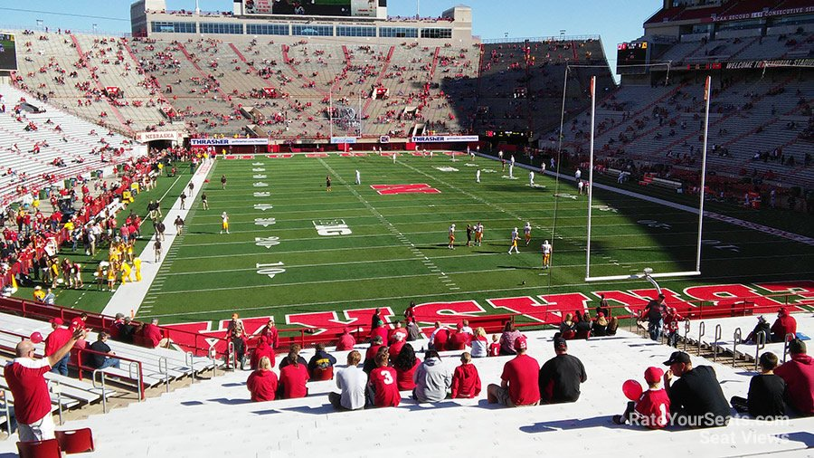 Seat View for Memorial Stadium Section 17, Row 41